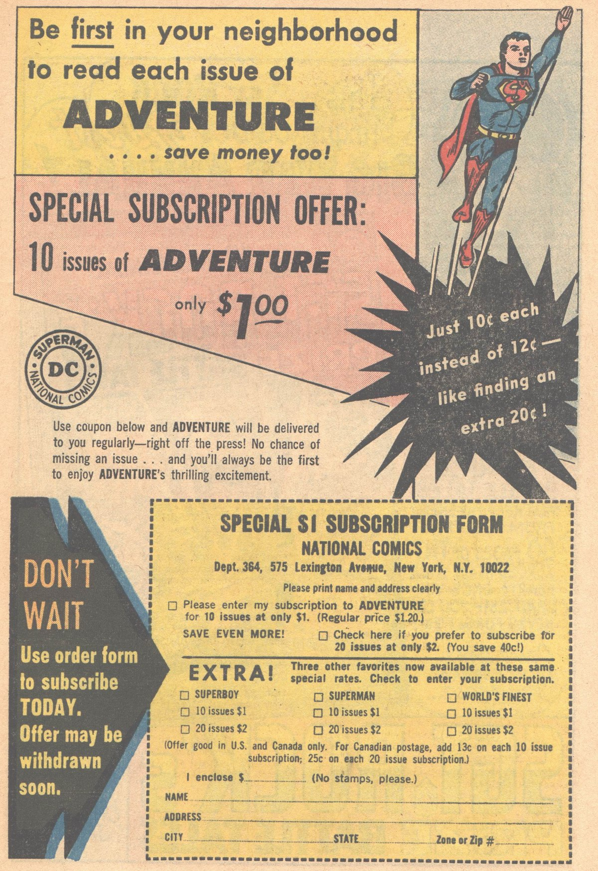 Read online Adventure Comics (1938) comic -  Issue #318 - 23