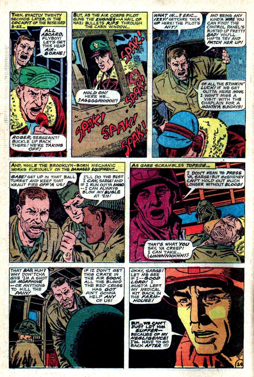 Read online Sgt. Fury comic -  Issue #46 - 20