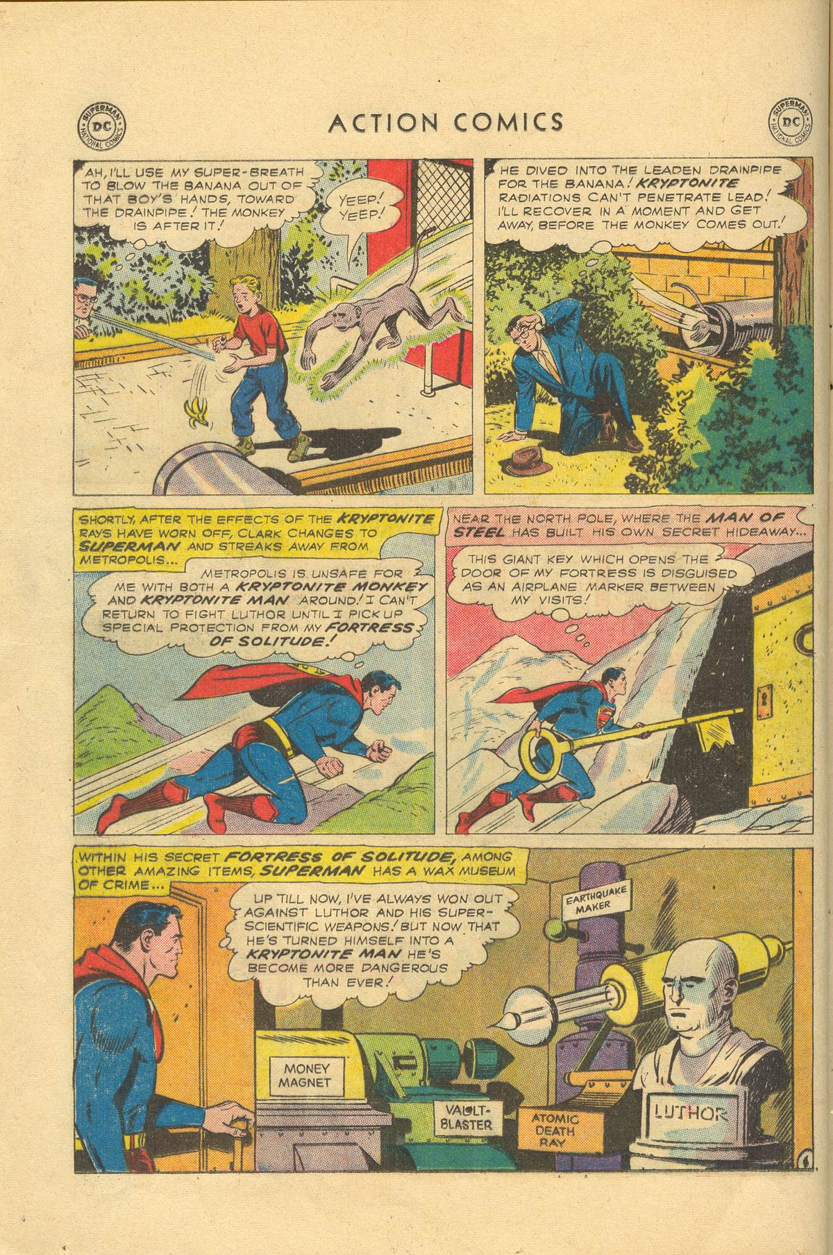 Read online Action Comics (1938) comic -  Issue #249 - 8
