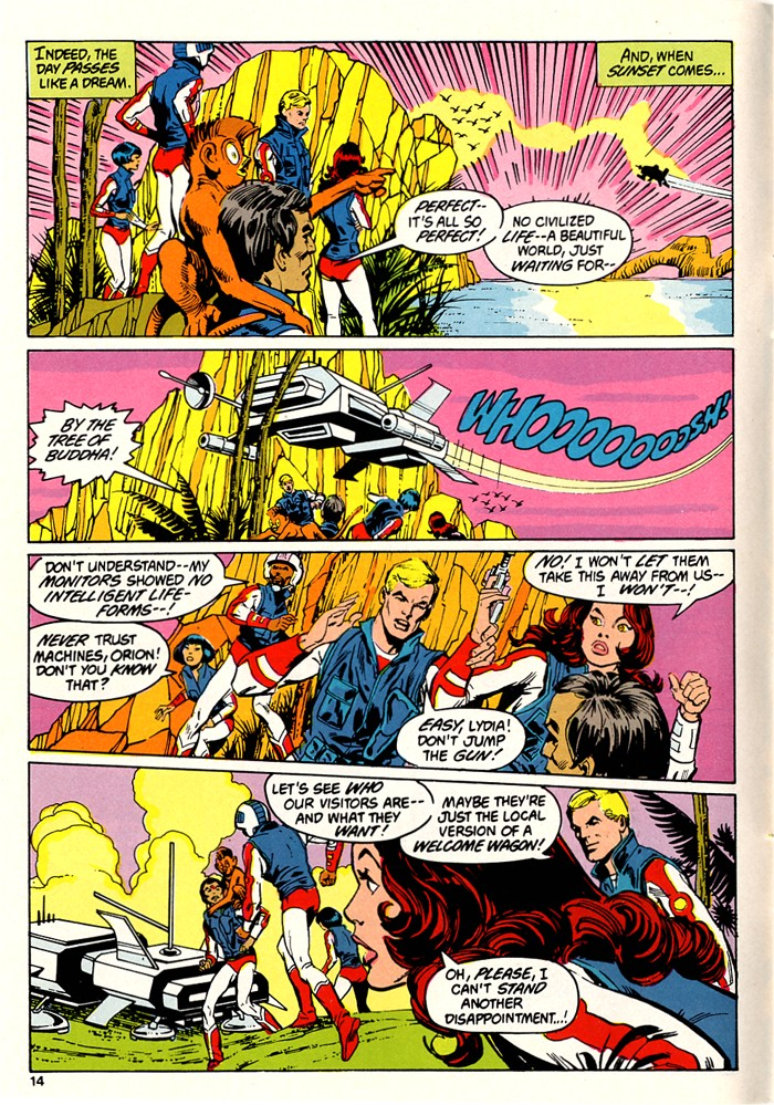 Read online Atari Force (1982) comic -  Issue #5 - 16
