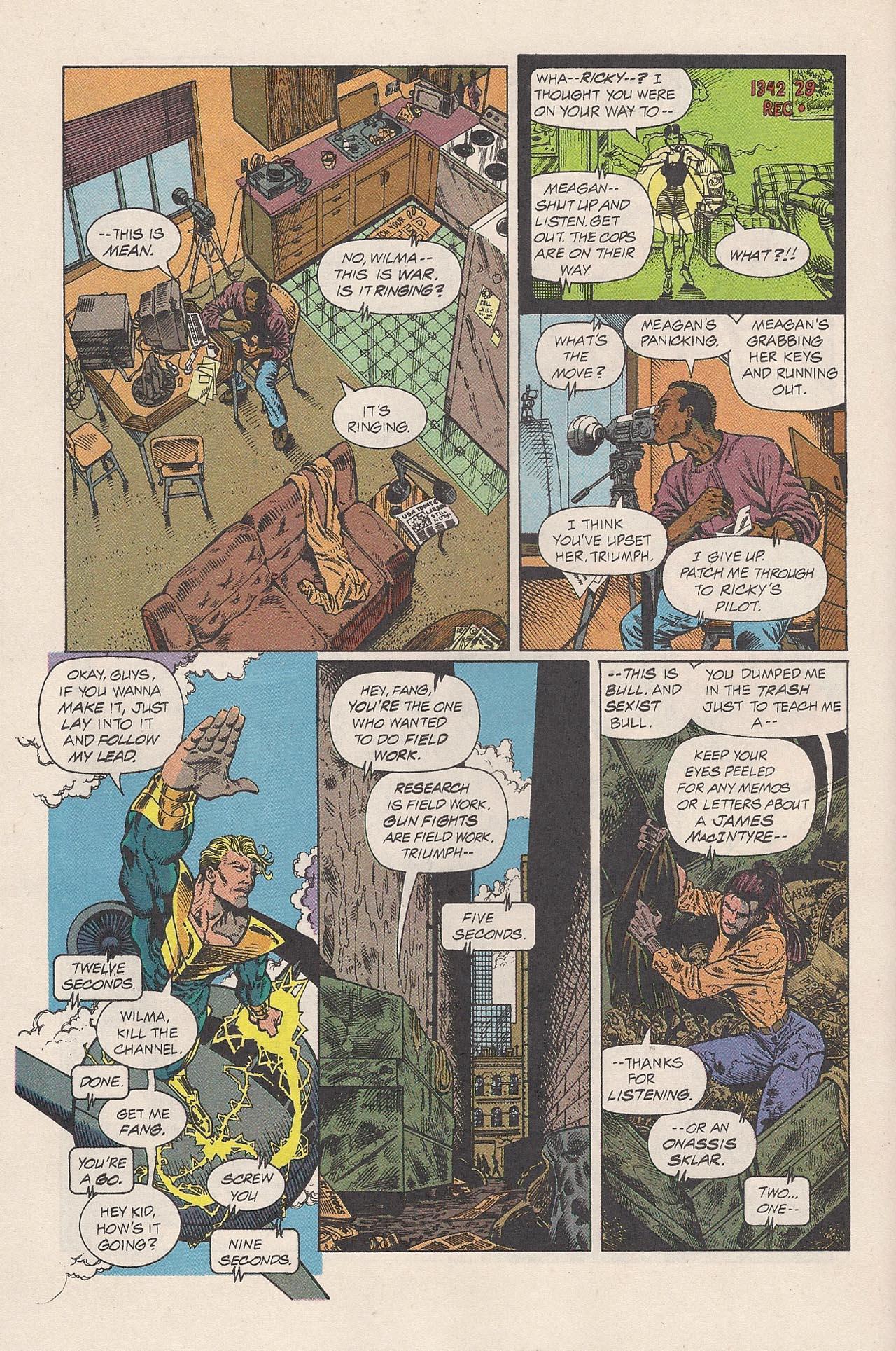 Read online Triumph comic -  Issue #2 - 12
