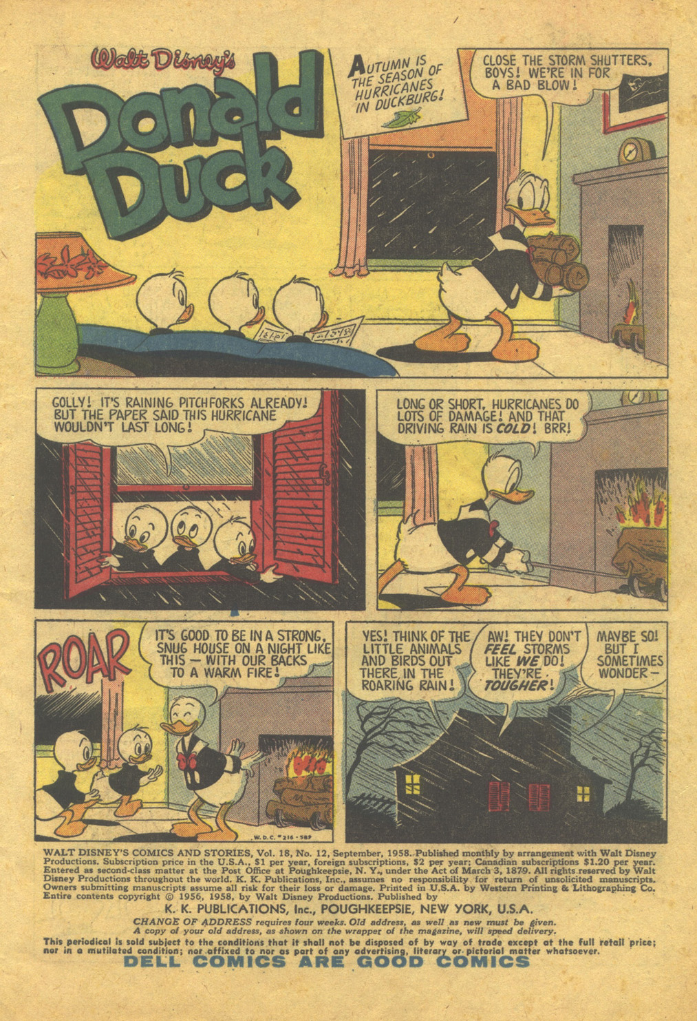 Walt Disney's Comics and Stories issue 216 - Page 3