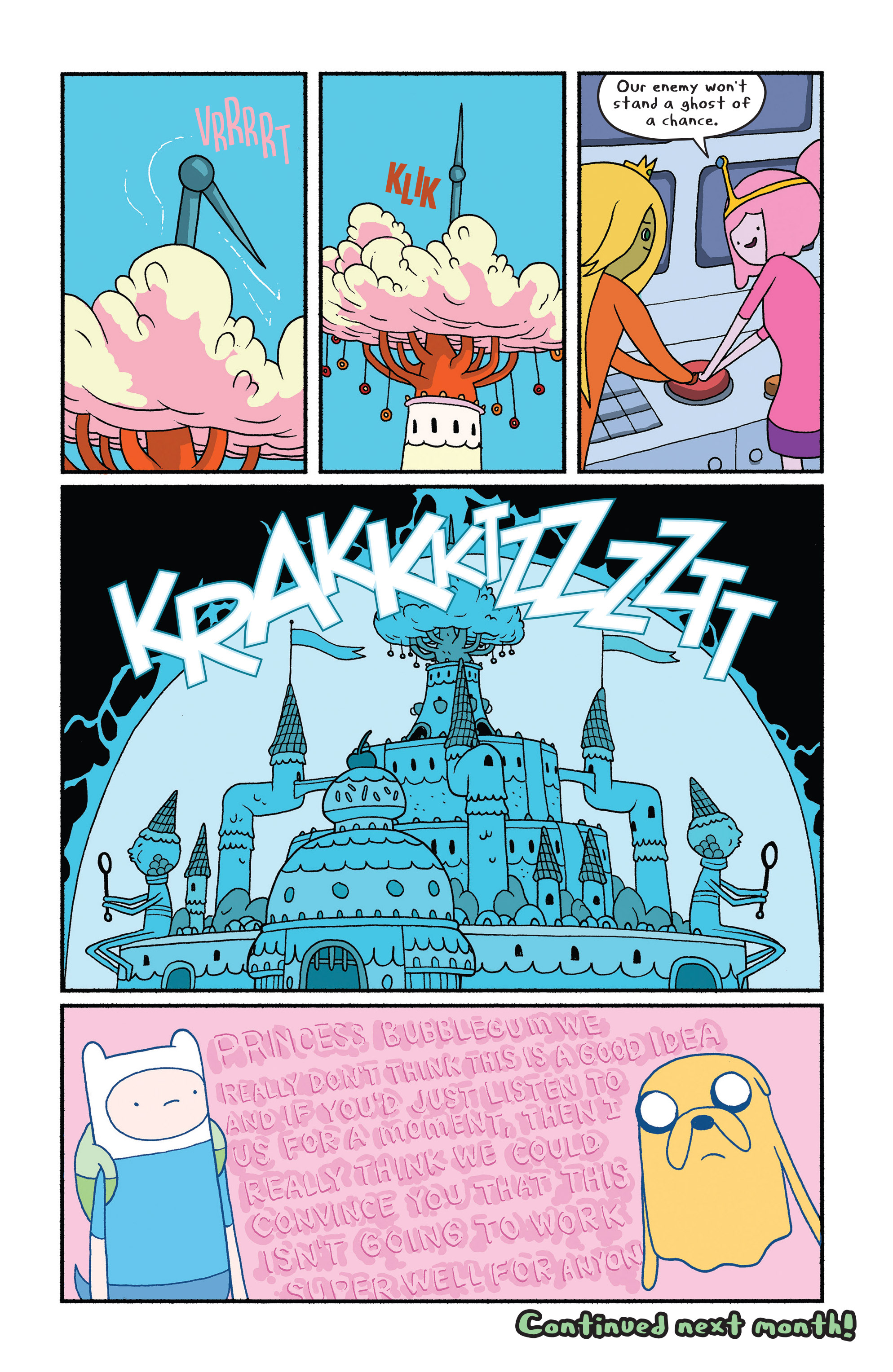 Read online Adventure Time comic -  Issue #28 - 20