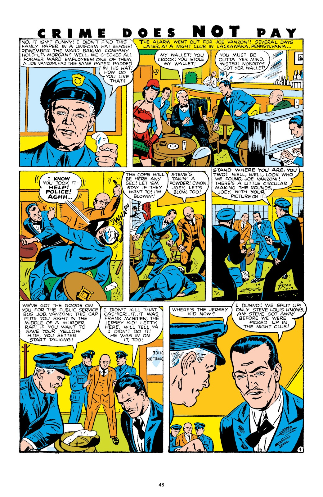 Read online Crime Does Not Pay Archives comic -  Issue # TPB 10 (Part 1) - 50