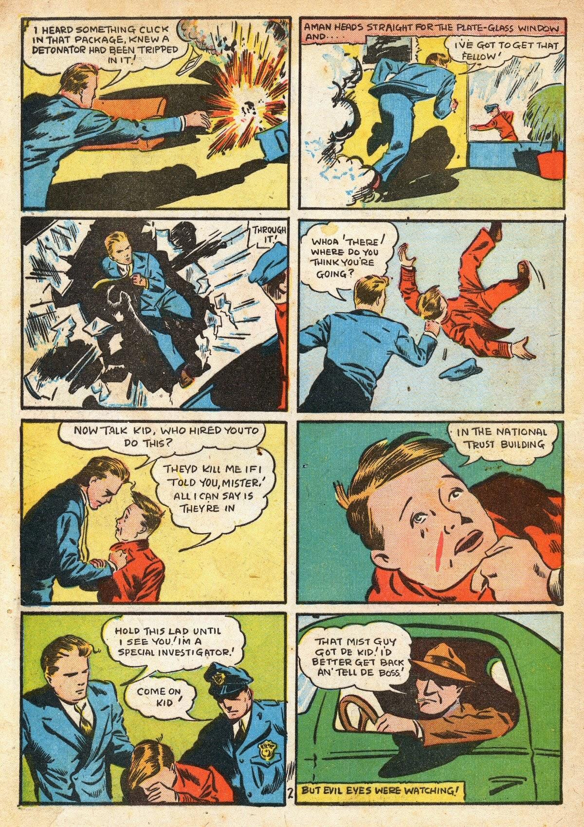 Read online Amazing Man Comics comic -  Issue #16 - 4