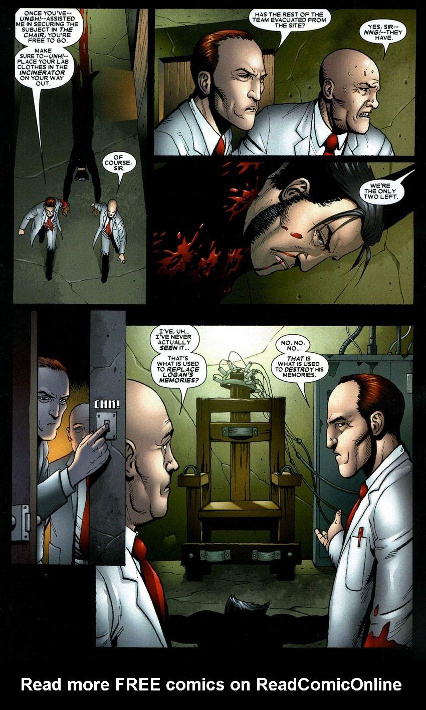Read online Wolverine: Origins comic -  Issue #7 - 8