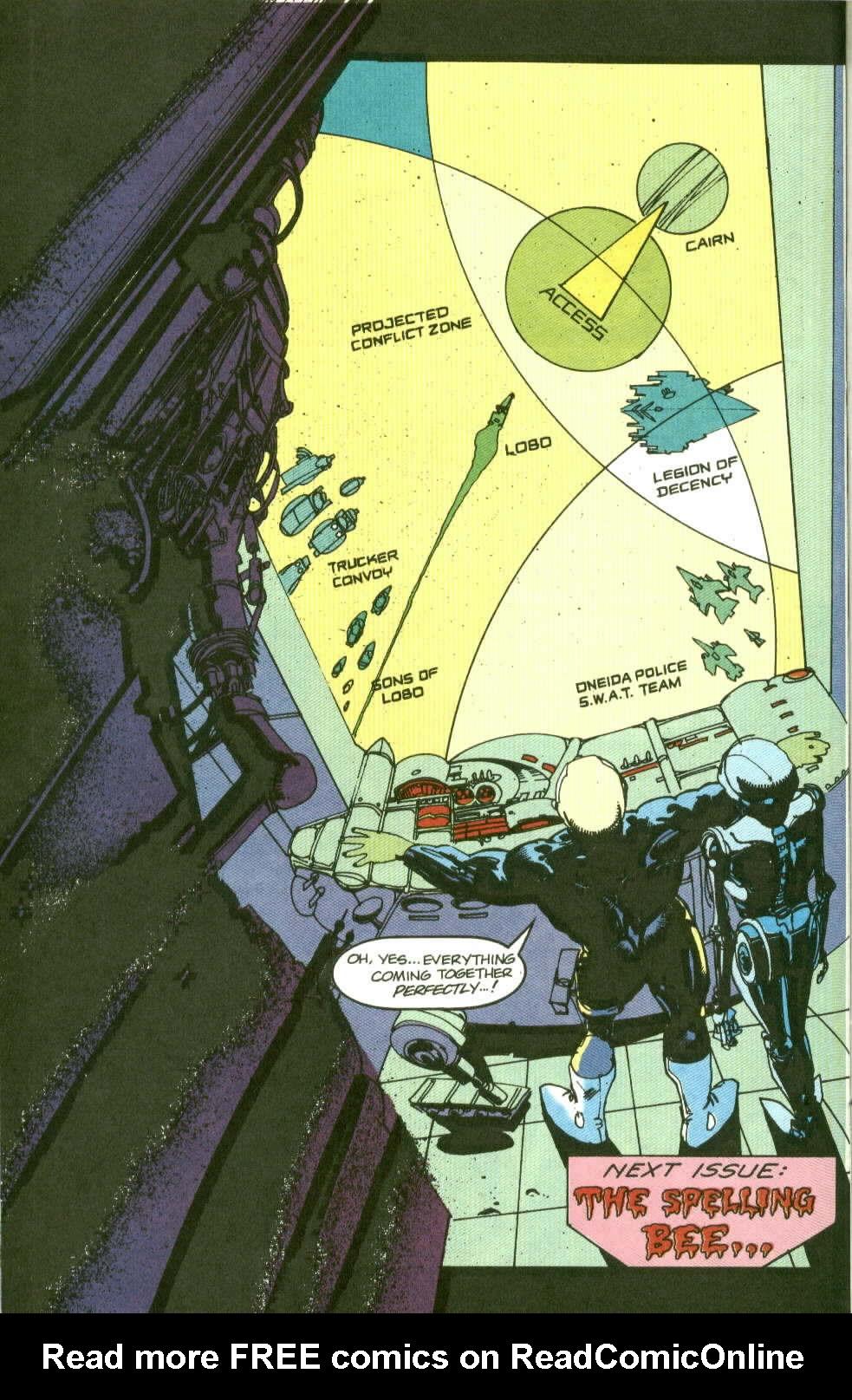 Read online Lobo (1990) comic -  Issue #2 - 25