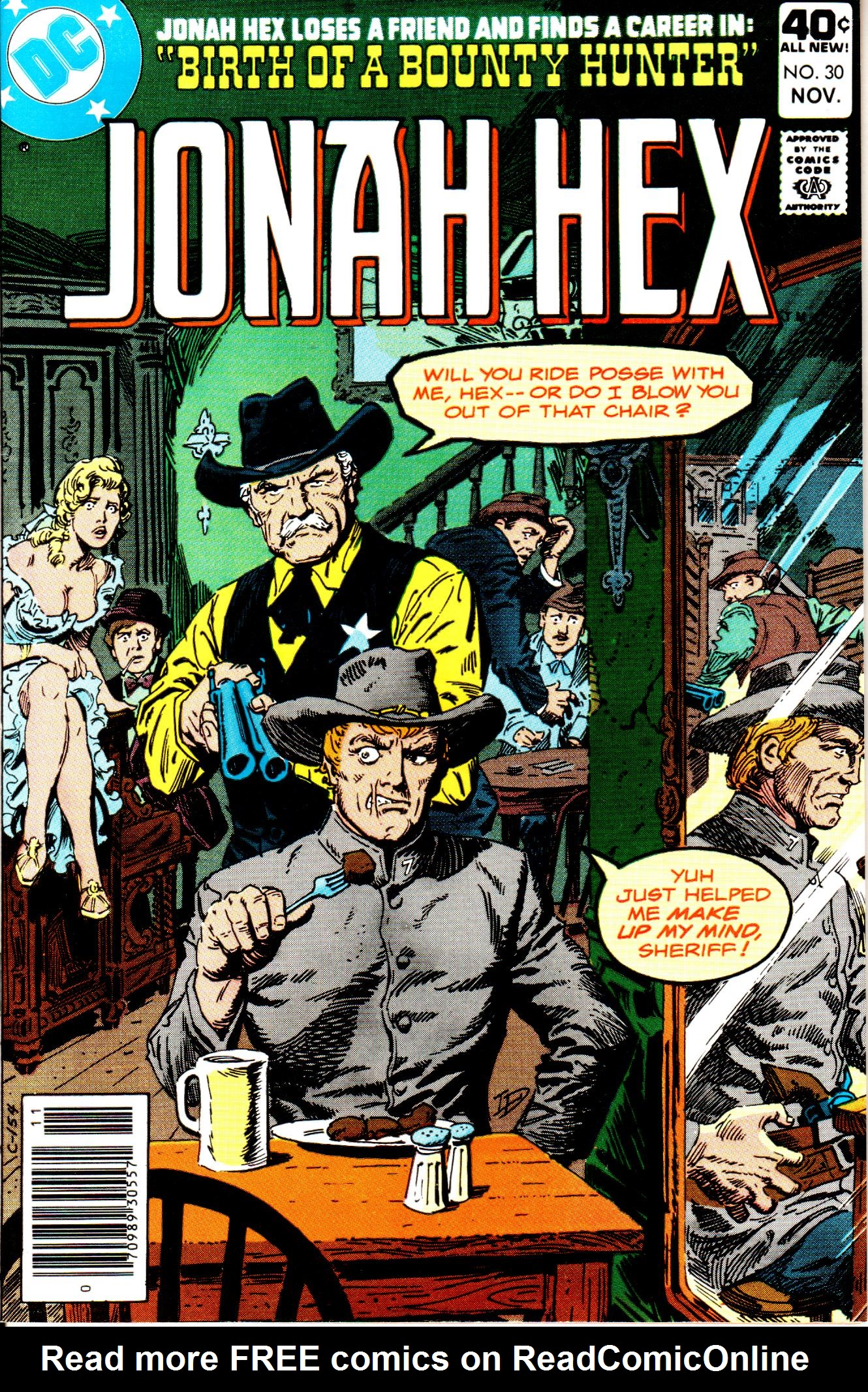Jonah Hex (1977) 30 Page 1