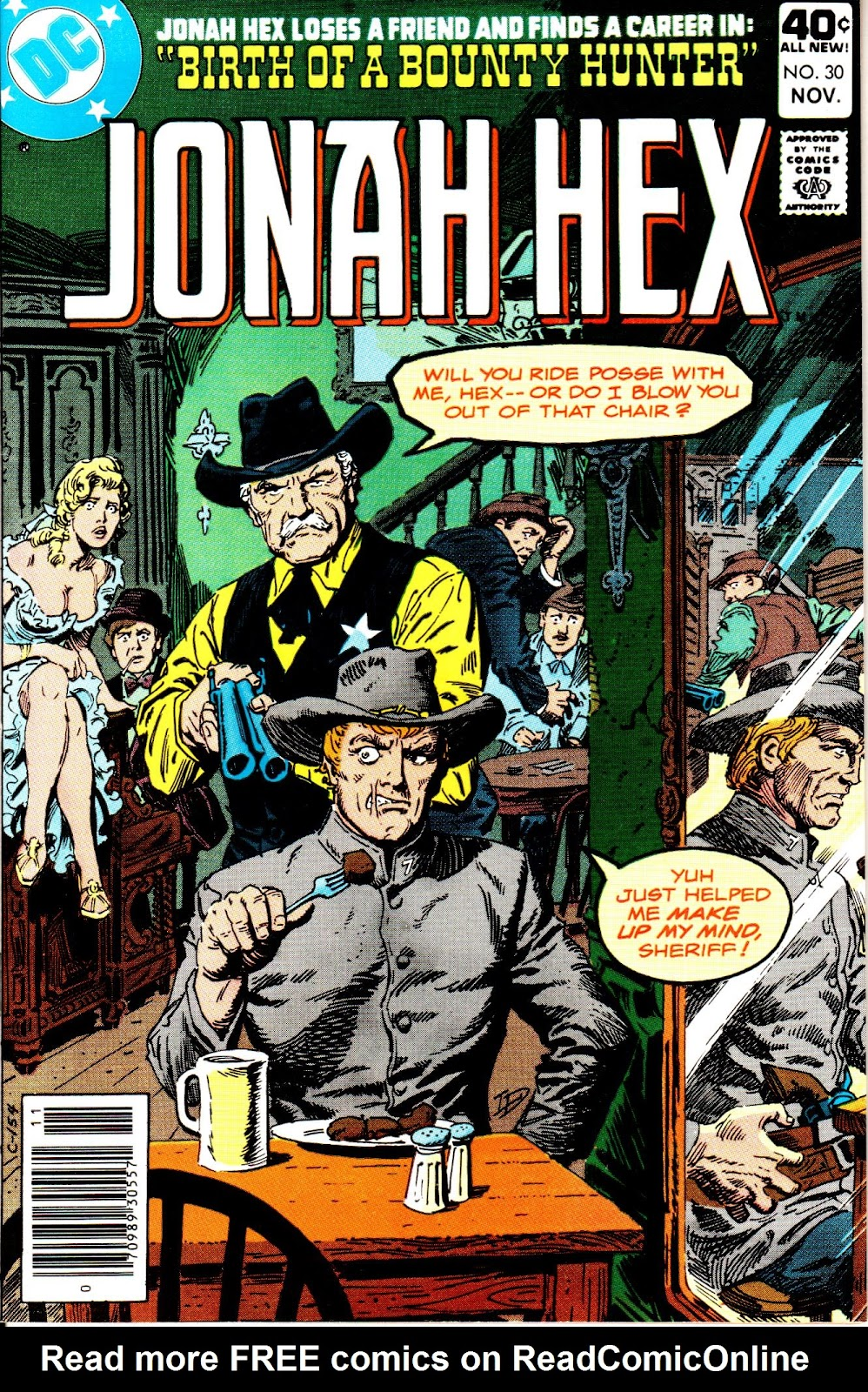 Jonah Hex (1977) issue 30 - Page 1