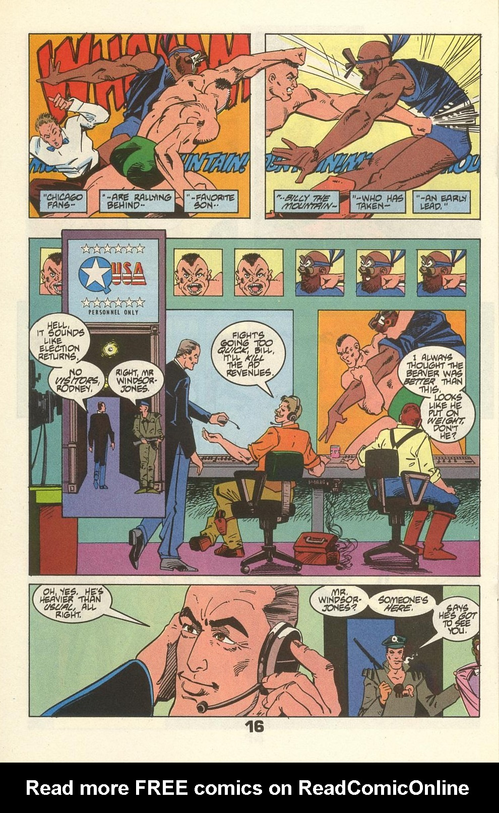 Read online American Flagg! comic -  Issue #34 - 20