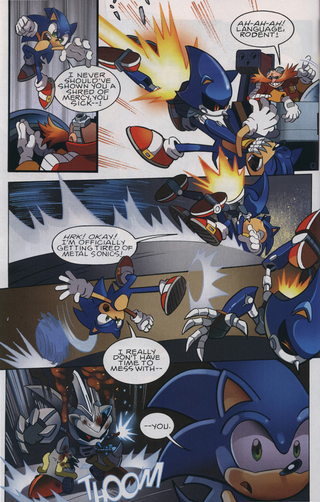 Read online Sonic the Hedgehog Free Comic Book Day Edition comic -  Issue # Special 6 - 16