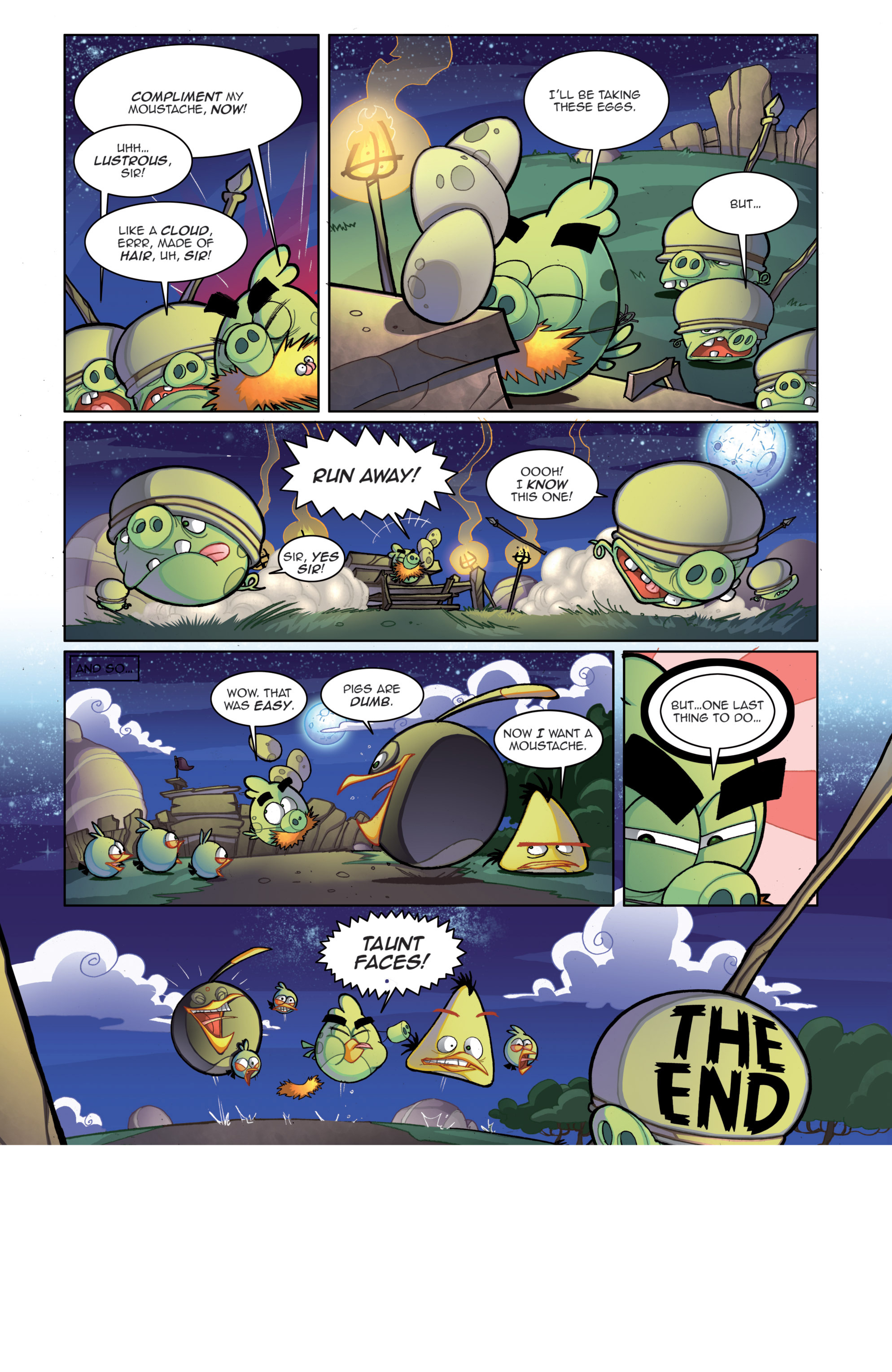 Read online Angry Birds Comics (2014) comic -  Issue #4 - 12