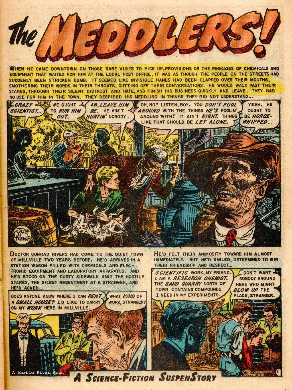 Read online Shock SuspenStories comic -  Issue #9 - 21