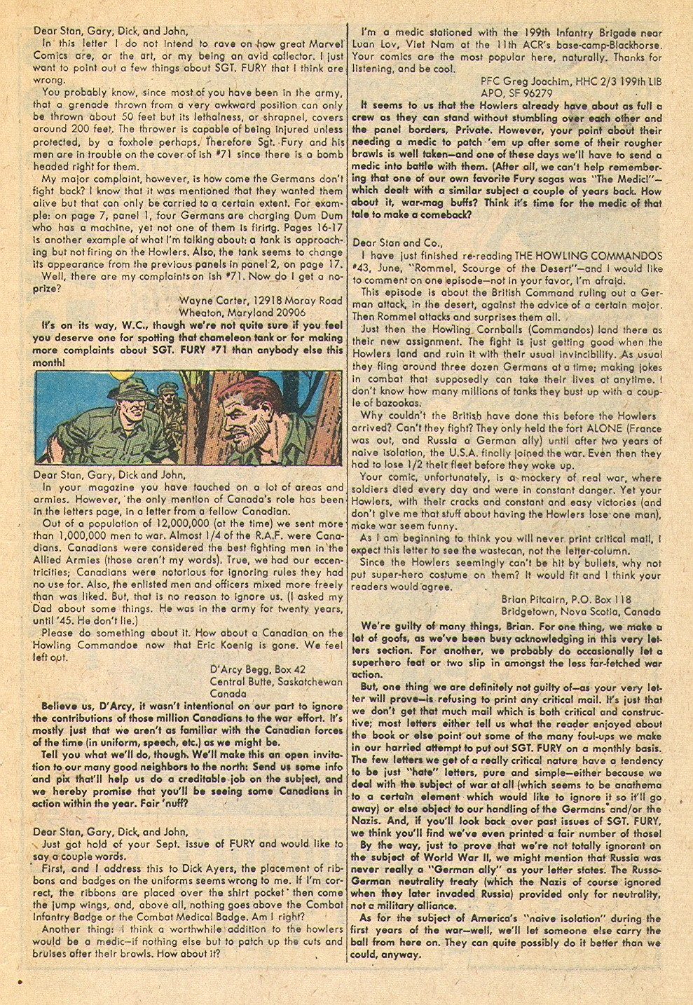 Read online Sgt. Fury comic -  Issue #75 - 33