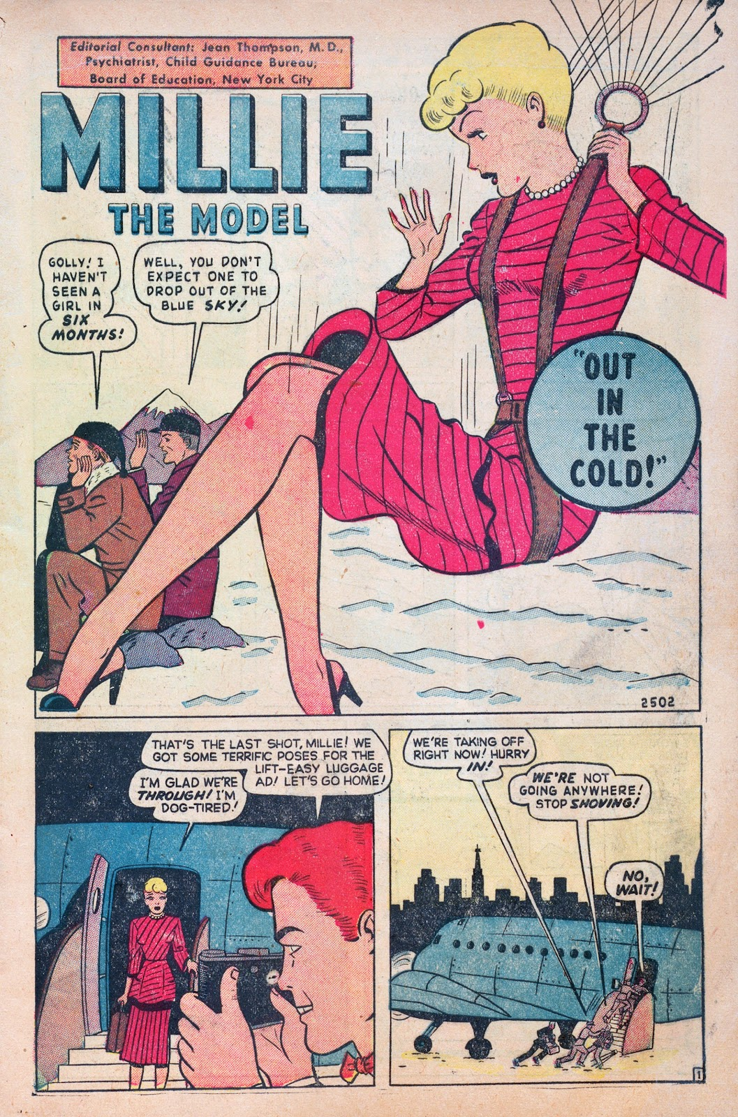 Read online Comedy Comics (1948) comic -  Issue #6 - 3