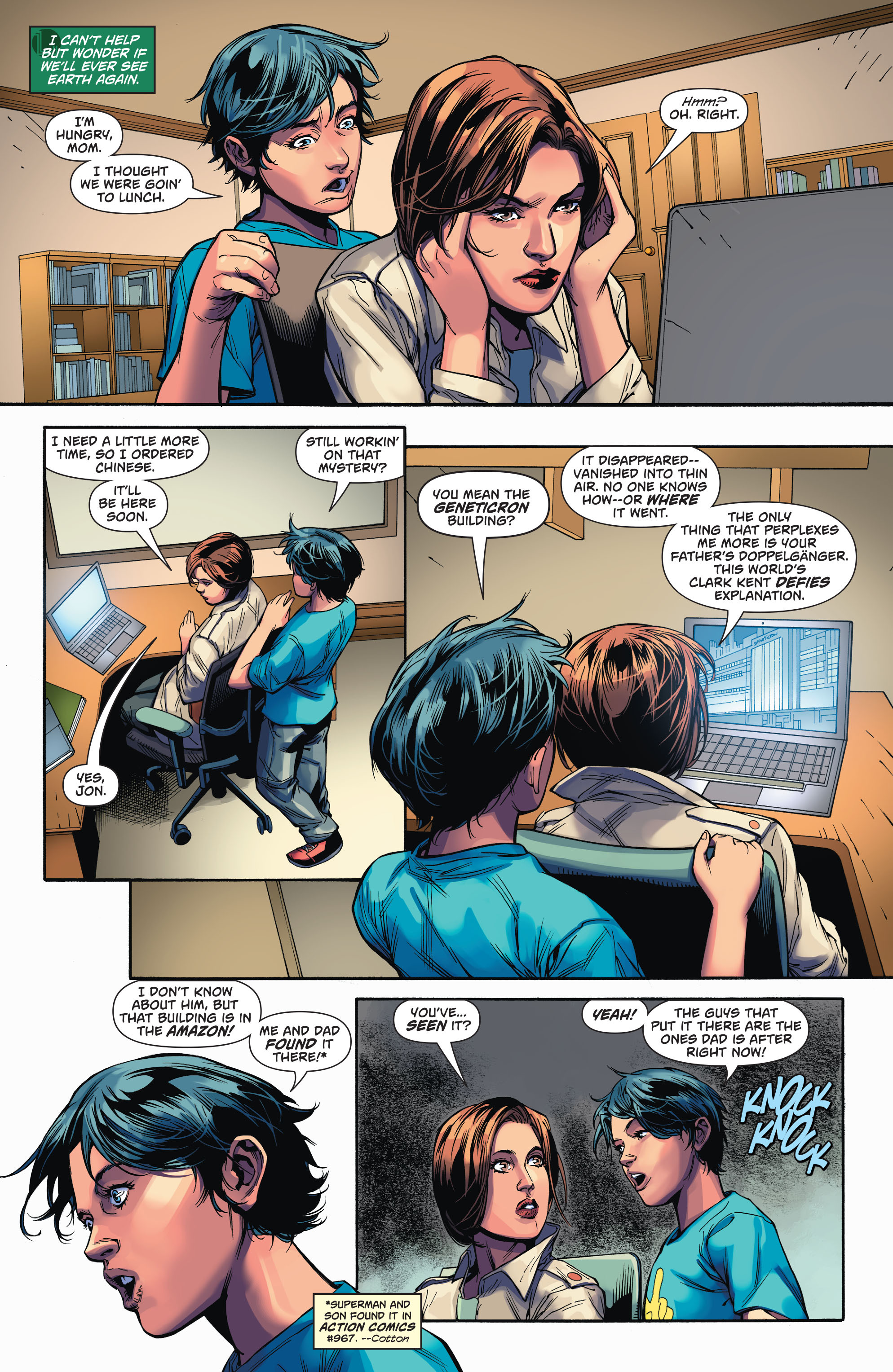 Read online Action Comics (2016) comic -  Issue #971 - 21