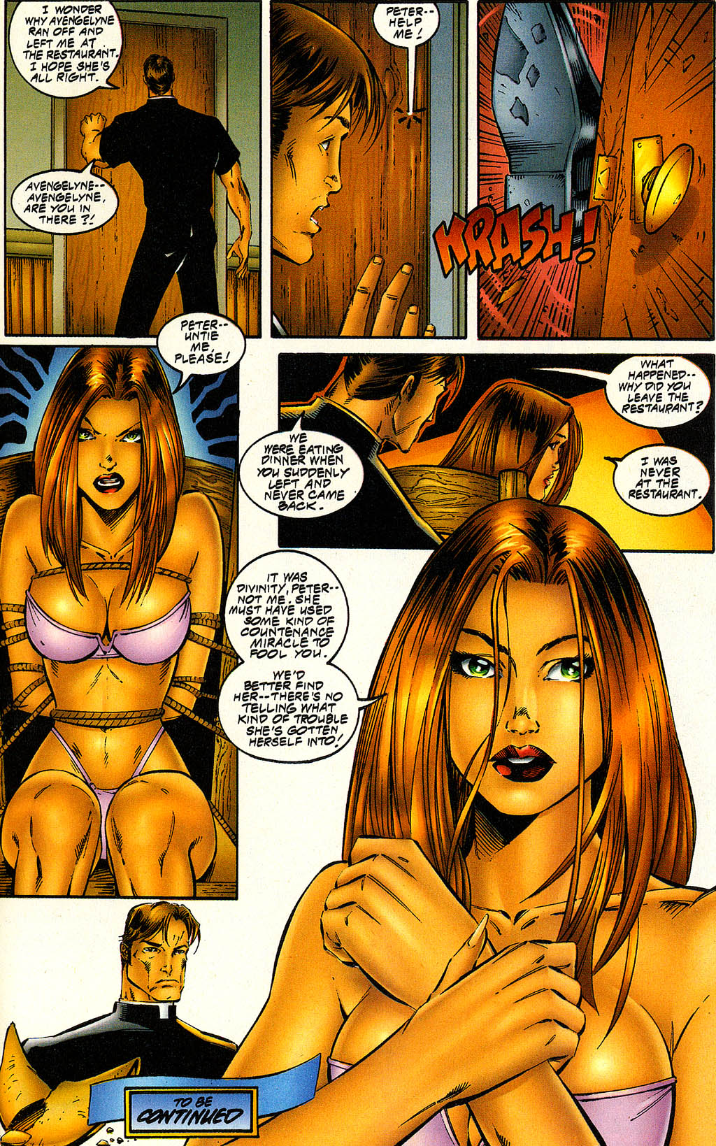 Read online Avengelyne (1996) comic -  Issue #6 - 24