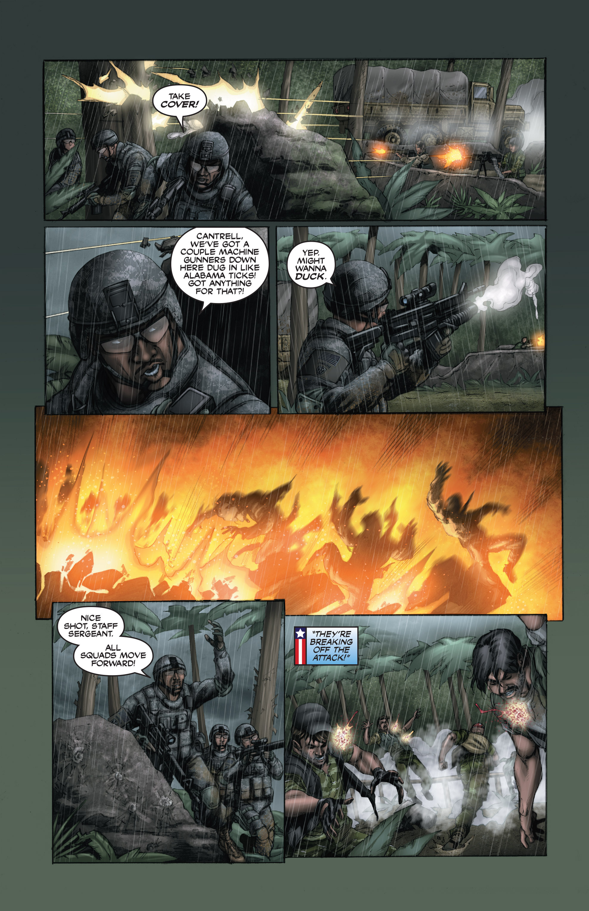 Read online America's Army comic -  Issue #15 - 20