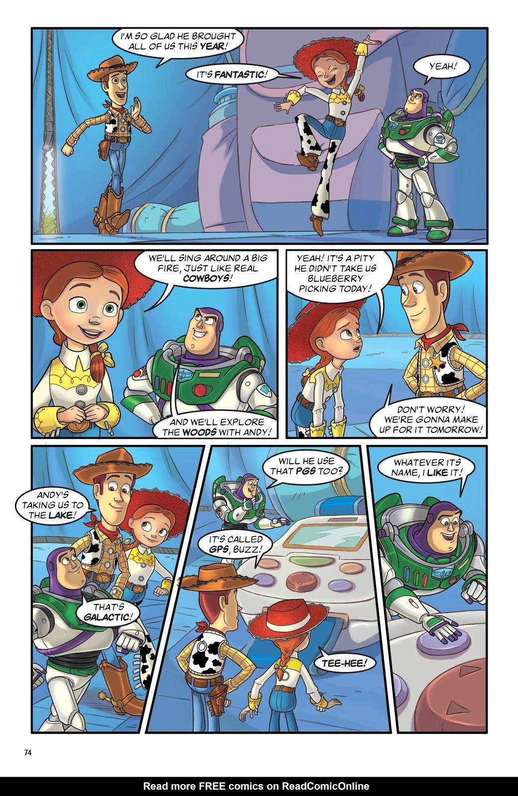 Read online DISNEY·PIXAR Toy Story Adventures comic -  Issue # TPB 1 (Part 1) - 74