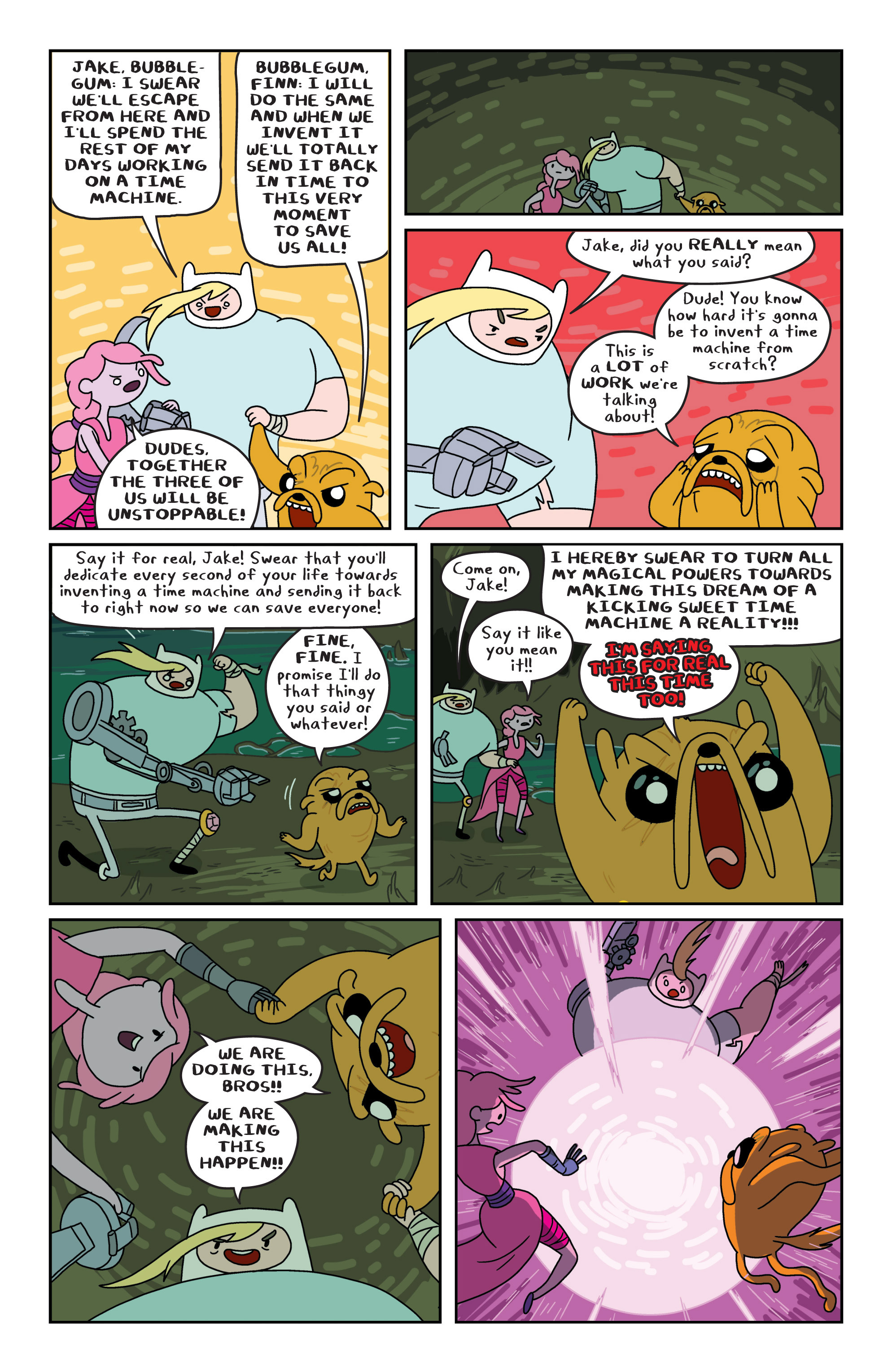Read online Adventure Time comic -  Issue #8 - 17