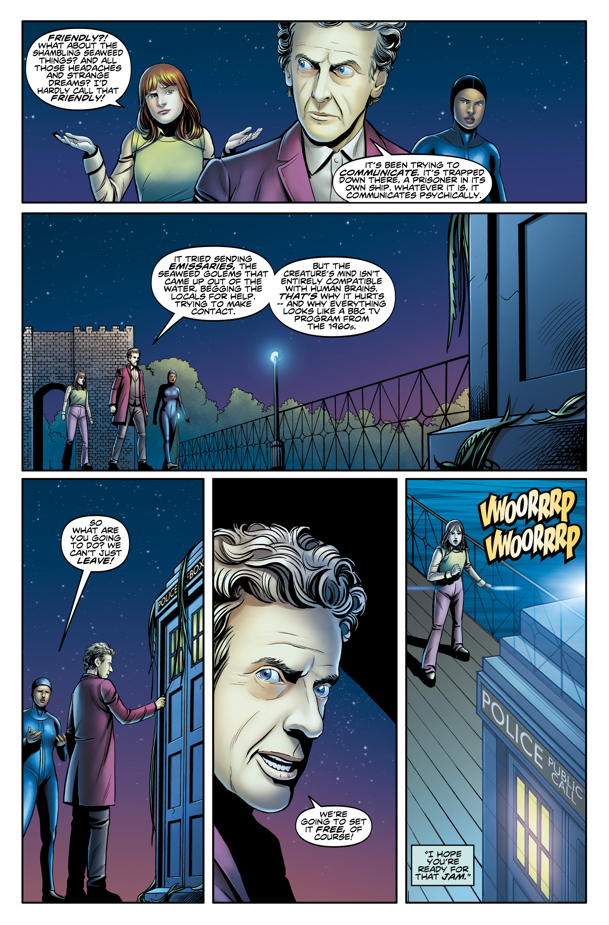 Read online Doctor Who: The Twelfth Doctor Year Three comic -  Issue #4 - 15
