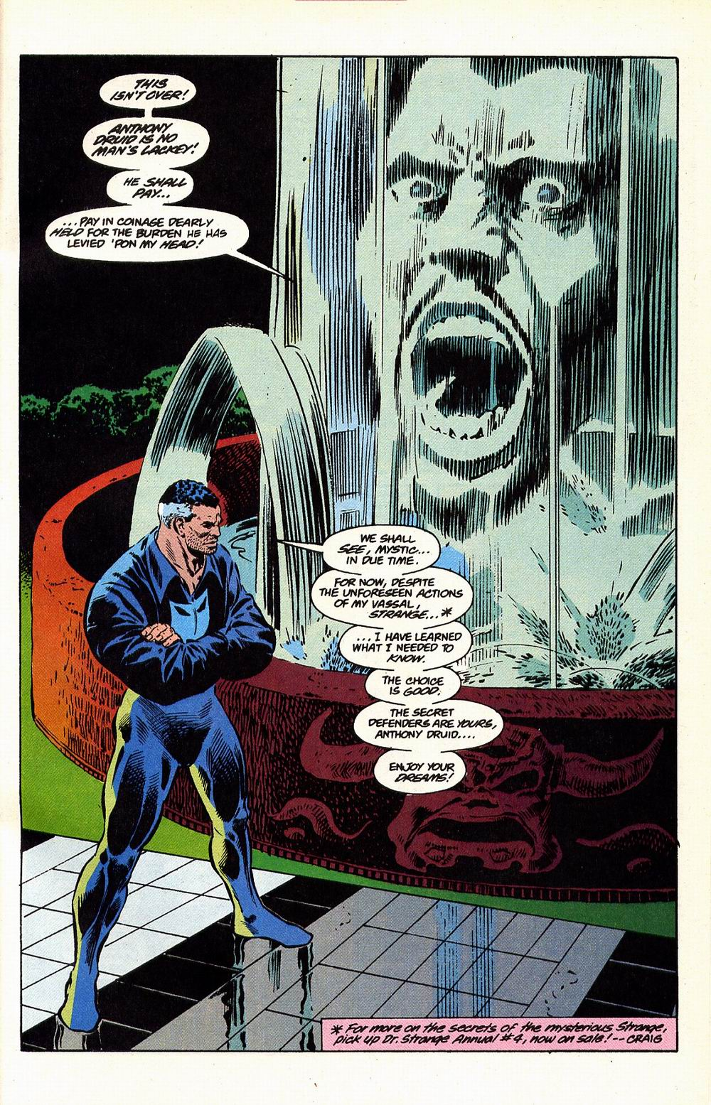 Read online Secret Defenders comic -  Issue #17 - 22
