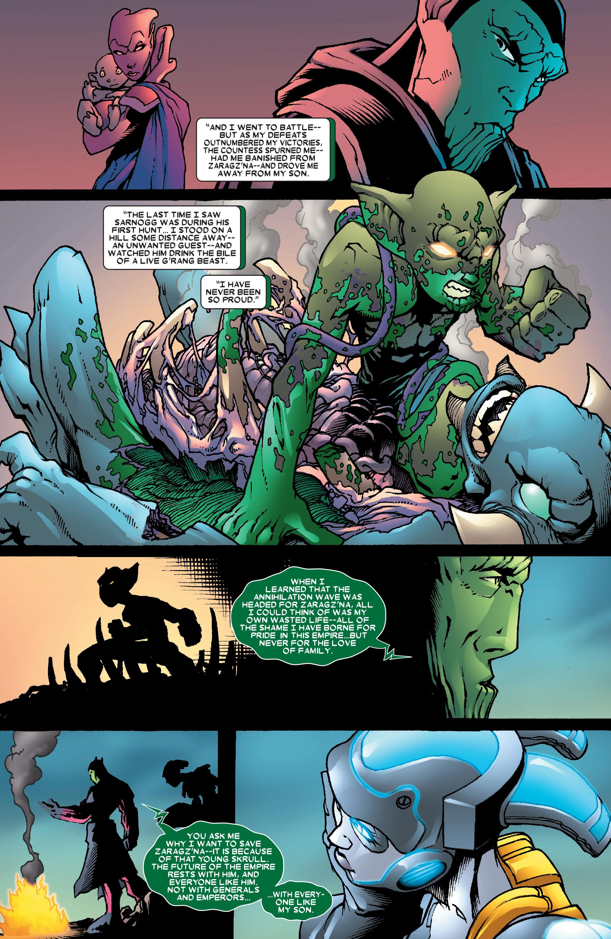 Read online Annihilation: Super-Skrull comic -  Issue #3 - 17