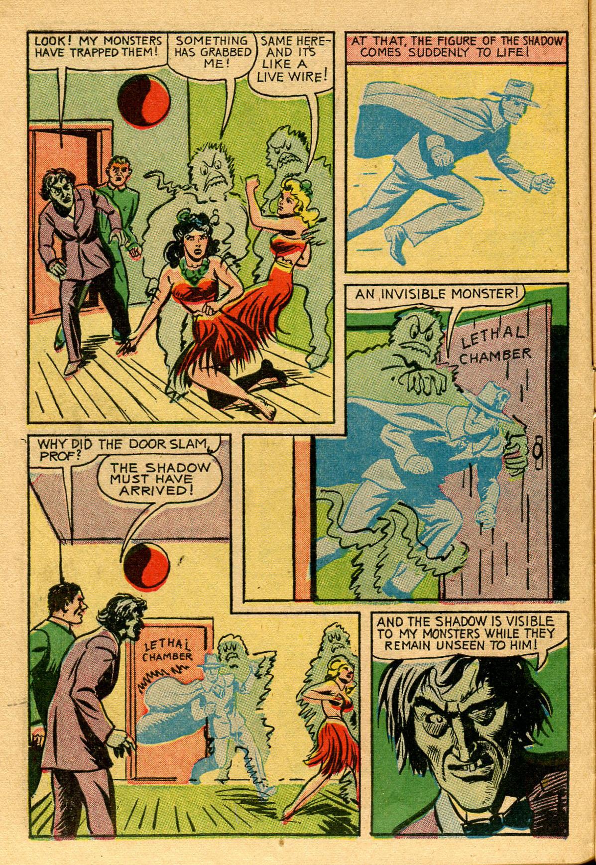 Read online Shadow Comics comic -  Issue #53 - 15
