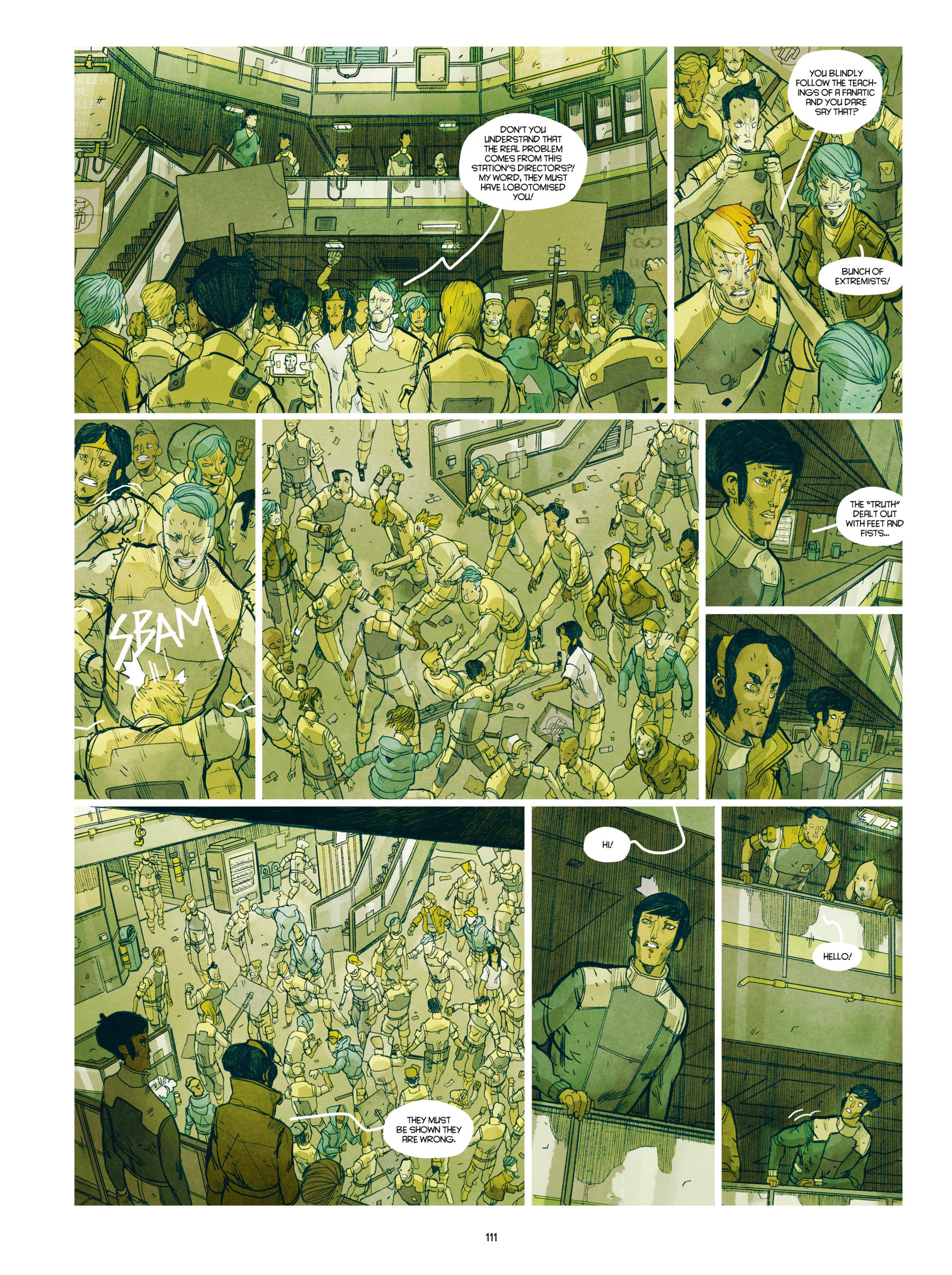 Read online Shangri-La comic -  Issue # Full - 112