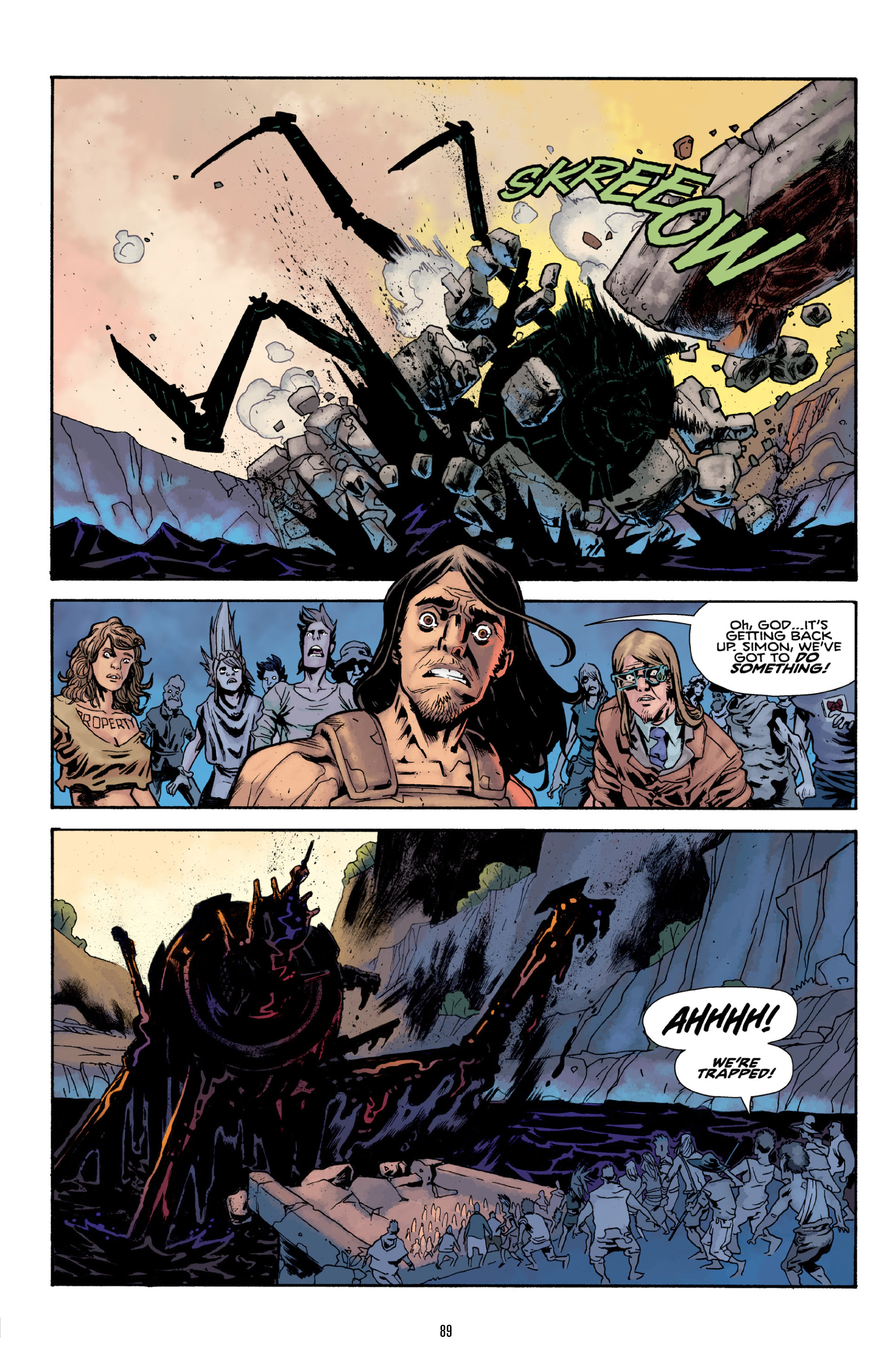 Read online Orchid comic -  Issue # TPB 3 - 88