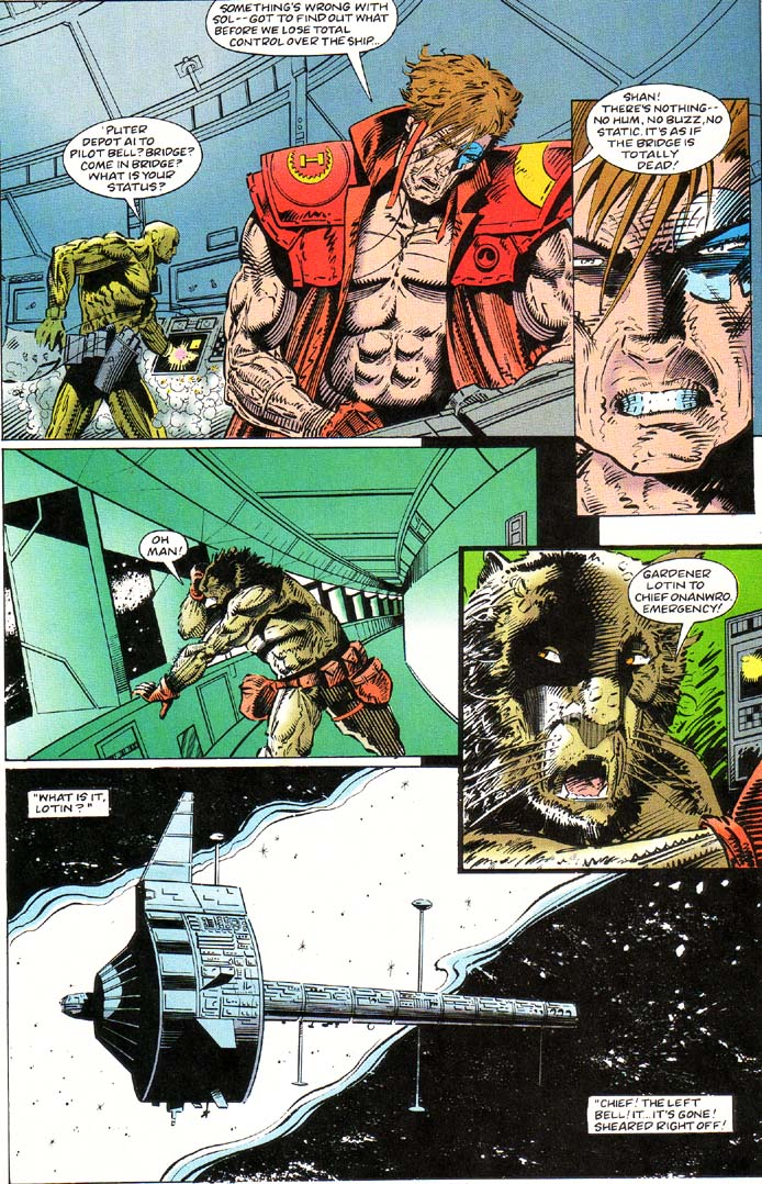 Read online Cyberspace 3000 comic -  Issue #1 - 7