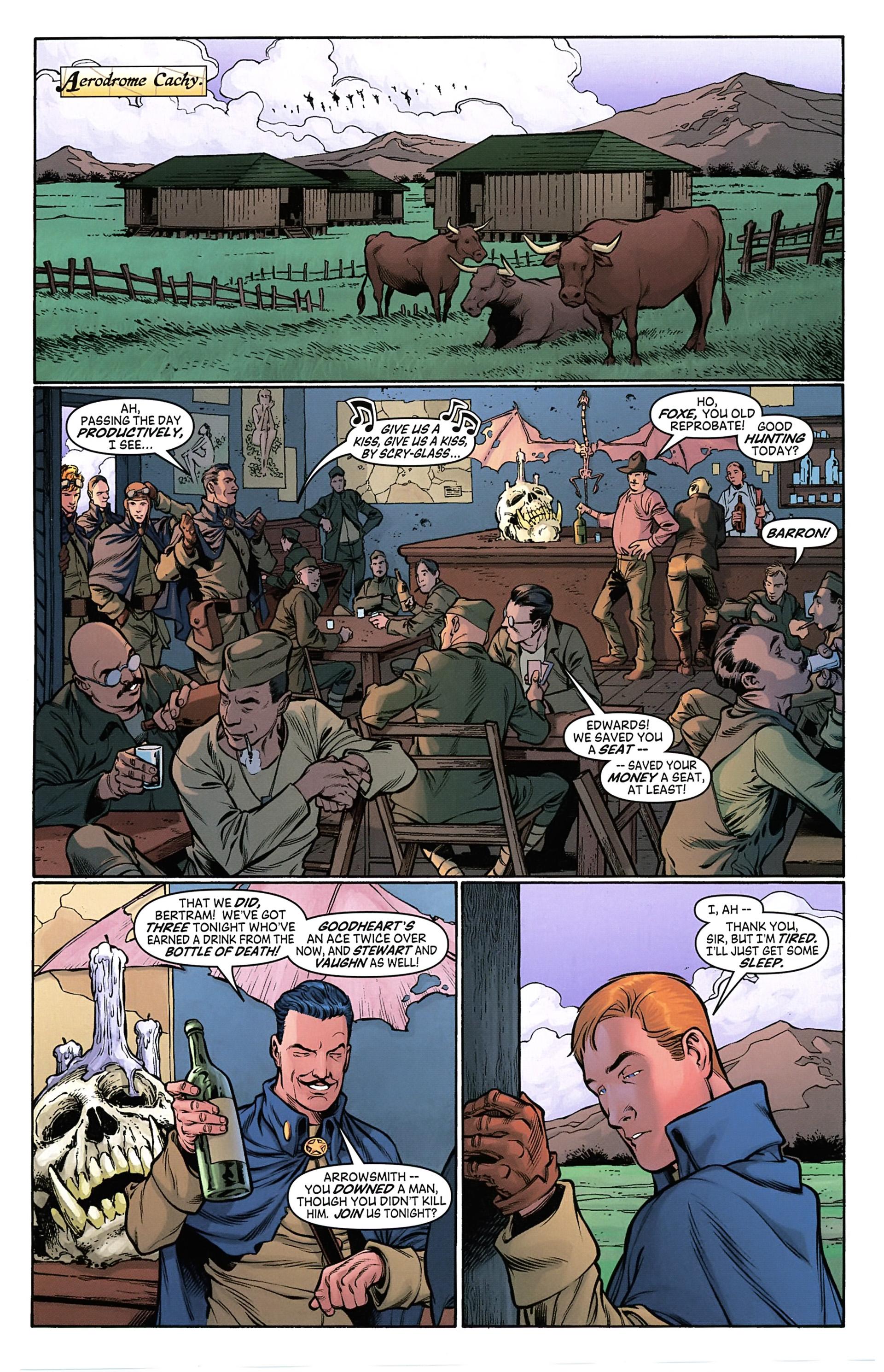 Read online Arrowsmith comic -  Issue #4 - 7