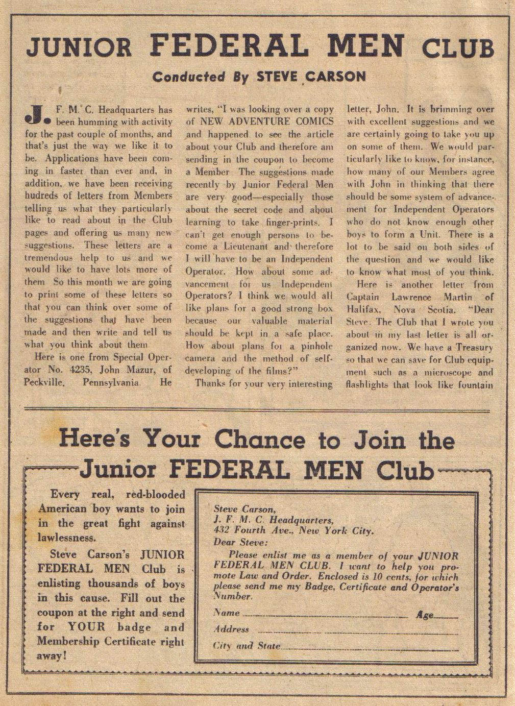 Read online Adventure Comics (1938) comic -  Issue #24 - 18