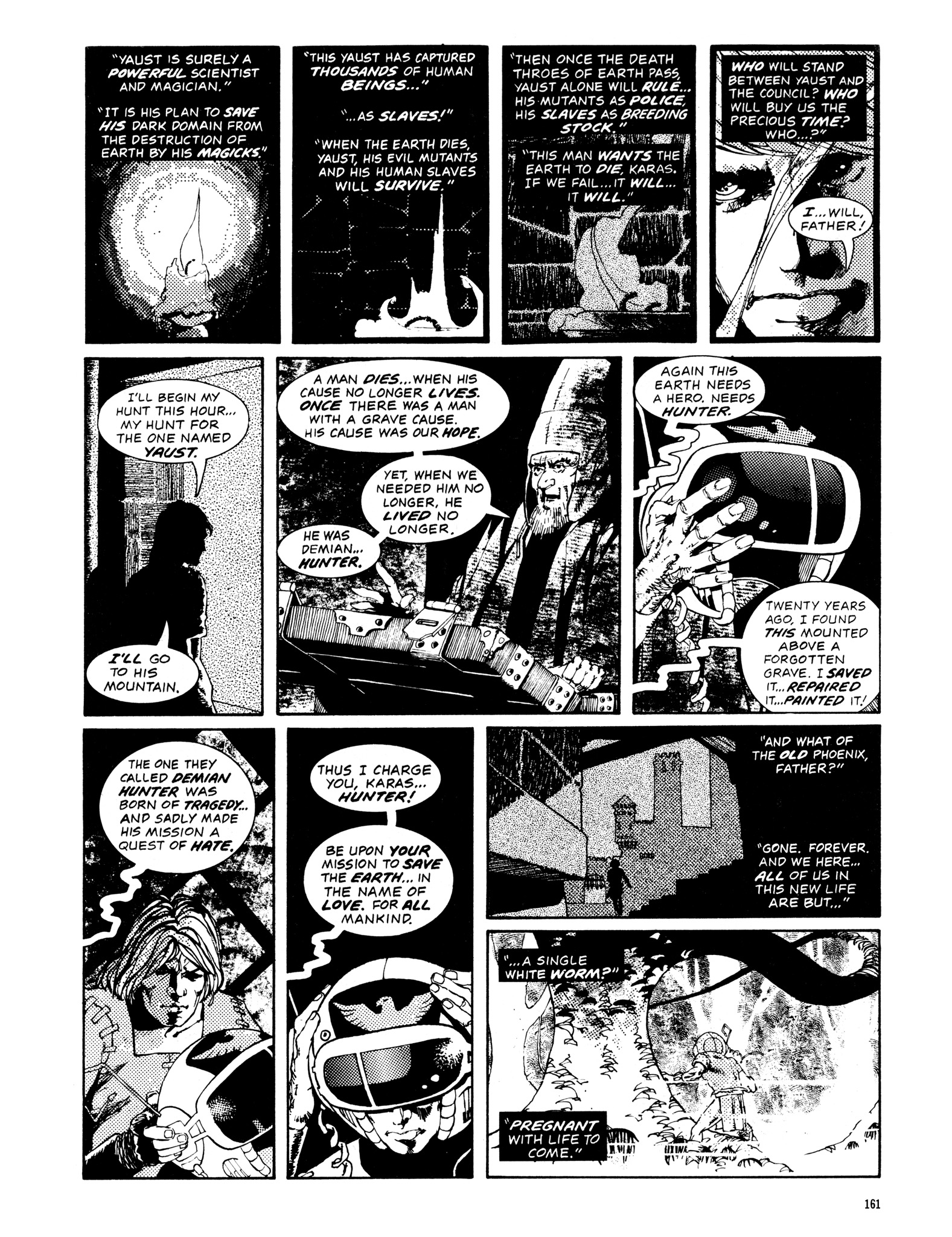 Read online Eerie Archives comic -  Issue # TPB 14 - 162