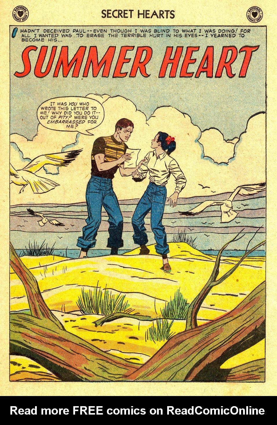 Read online Secret Hearts comic -  Issue #45 - 17
