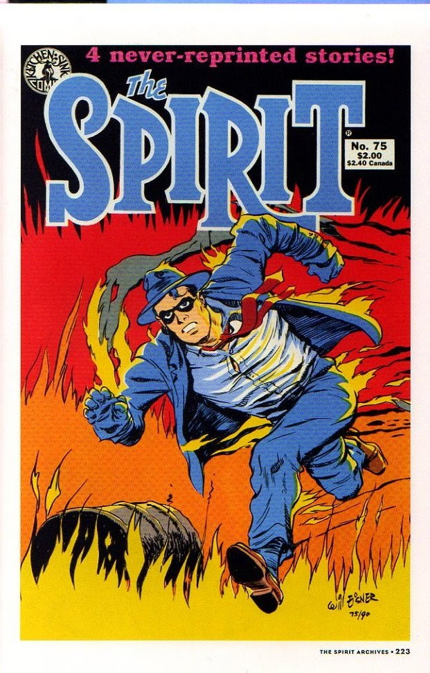 Read online Will Eisner's The Spirit Archives comic -  Issue # TPB 26 (Part 3) - 30