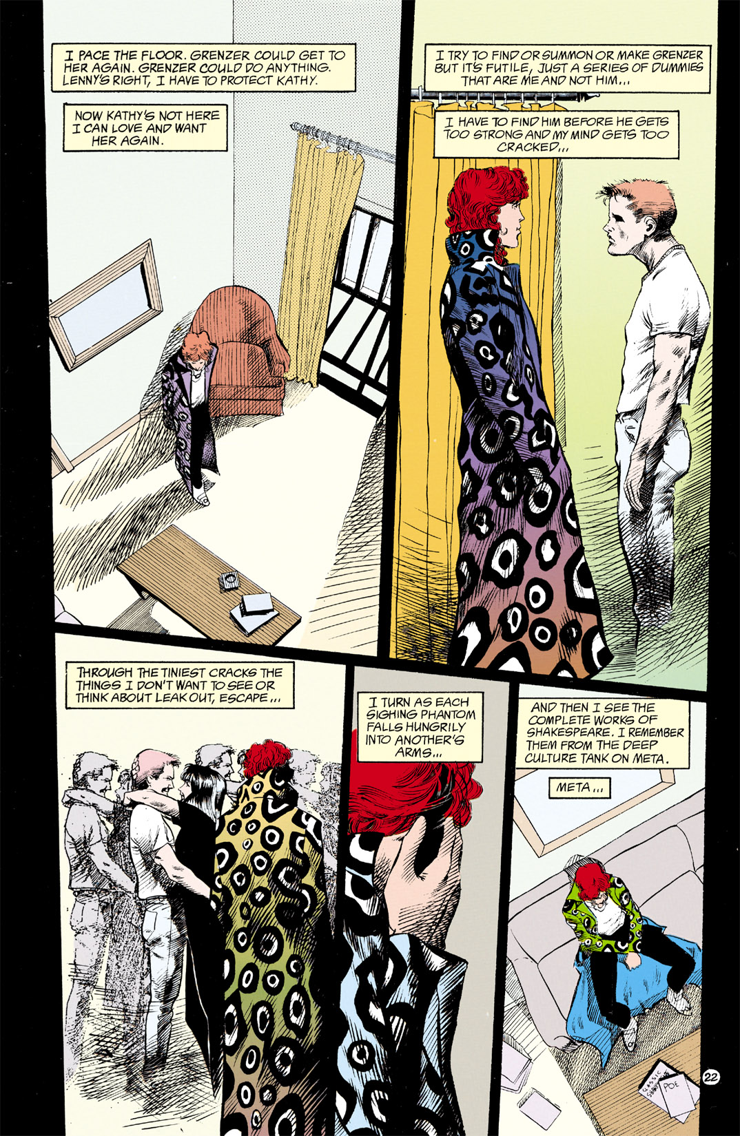 Read online Shade, the Changing Man comic -  Issue #12 - 23