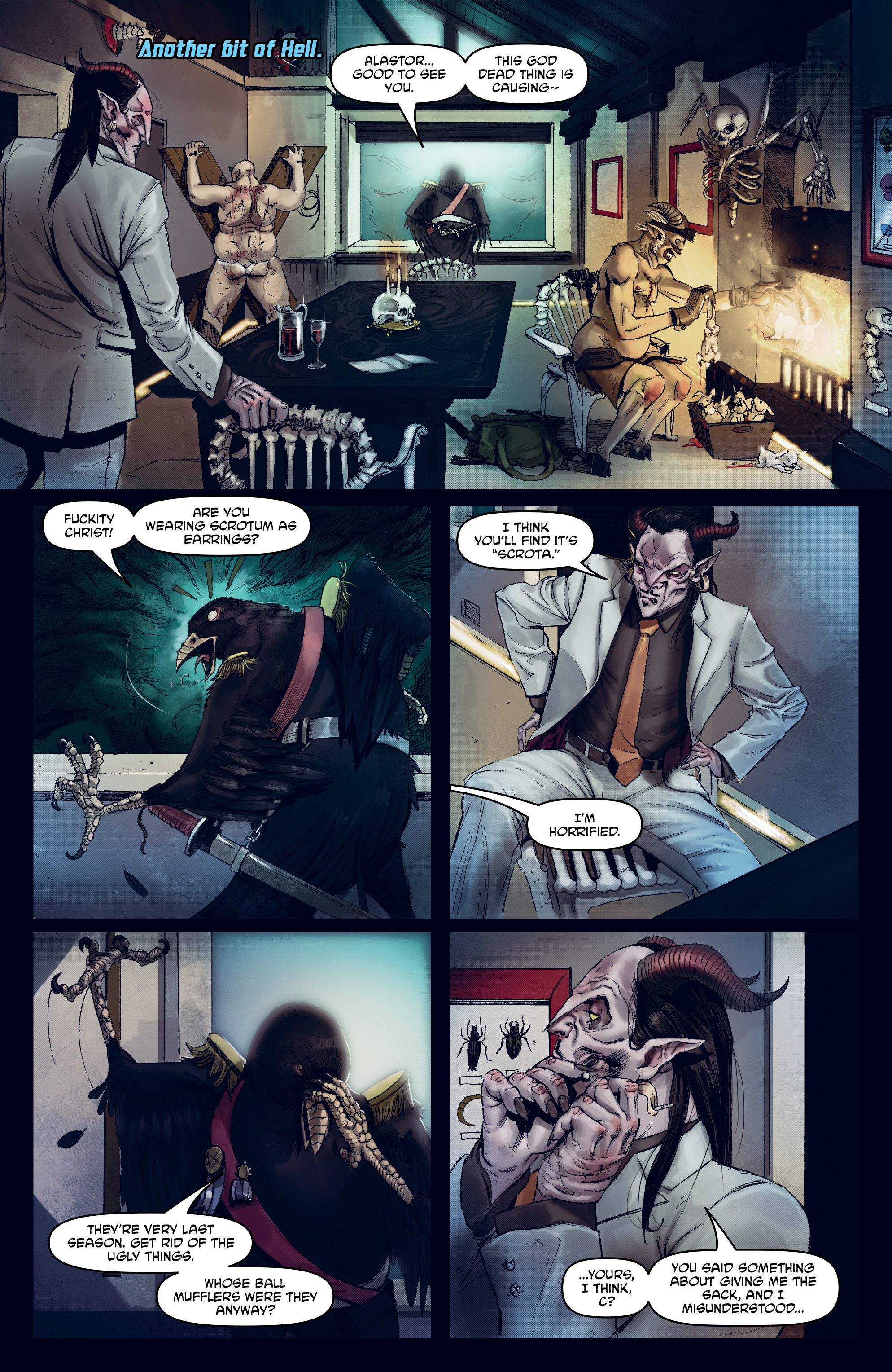 Read online God is Dead: Book of Acts comic -  Issue # Omega - 28