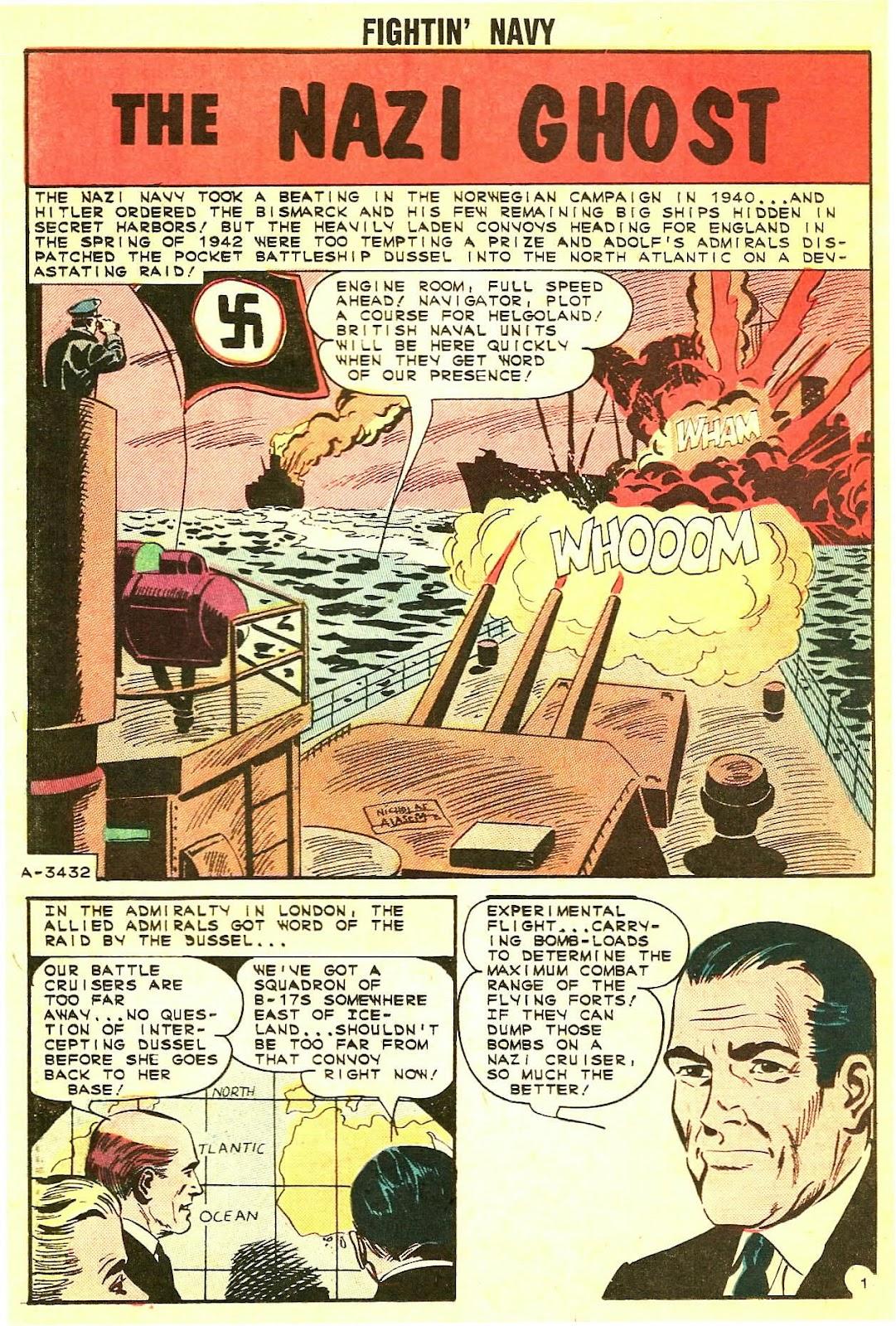 Read online Fightin' Navy comic -  Issue #115 - 20