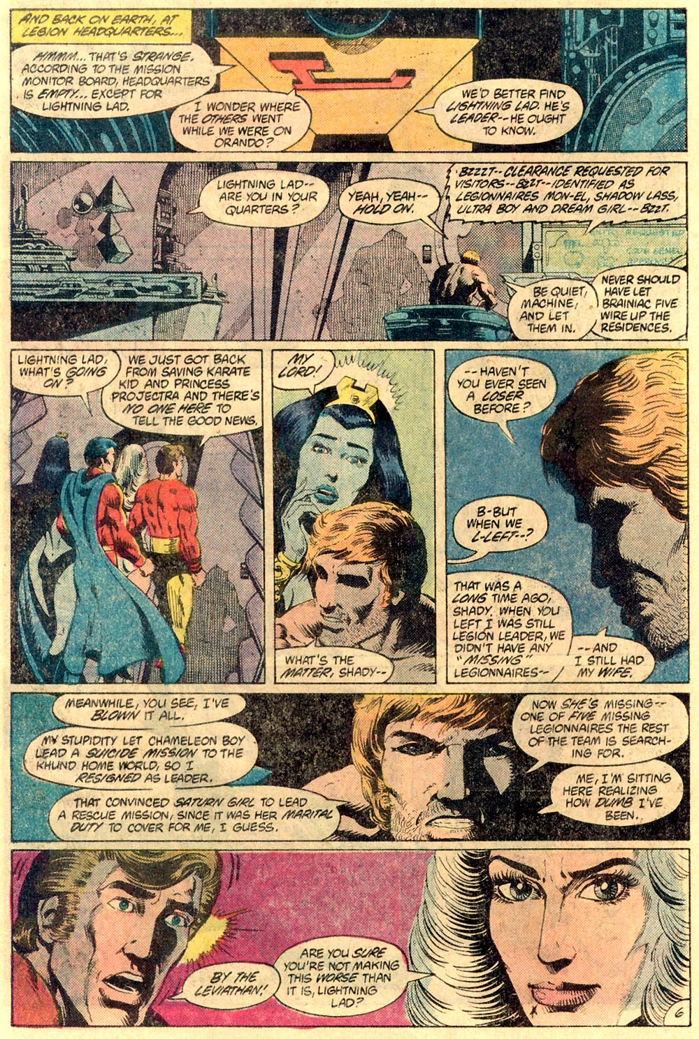 Legion of Super-Heroes (1980) 289 Page 6