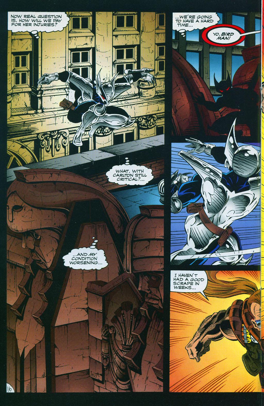 Read online ShadowHawk comic -  Issue #7 - 22