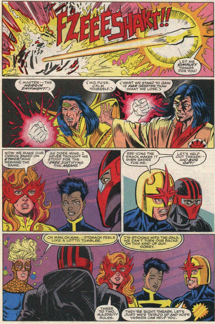 The New Warriors Issue #20 #24 - English 22
