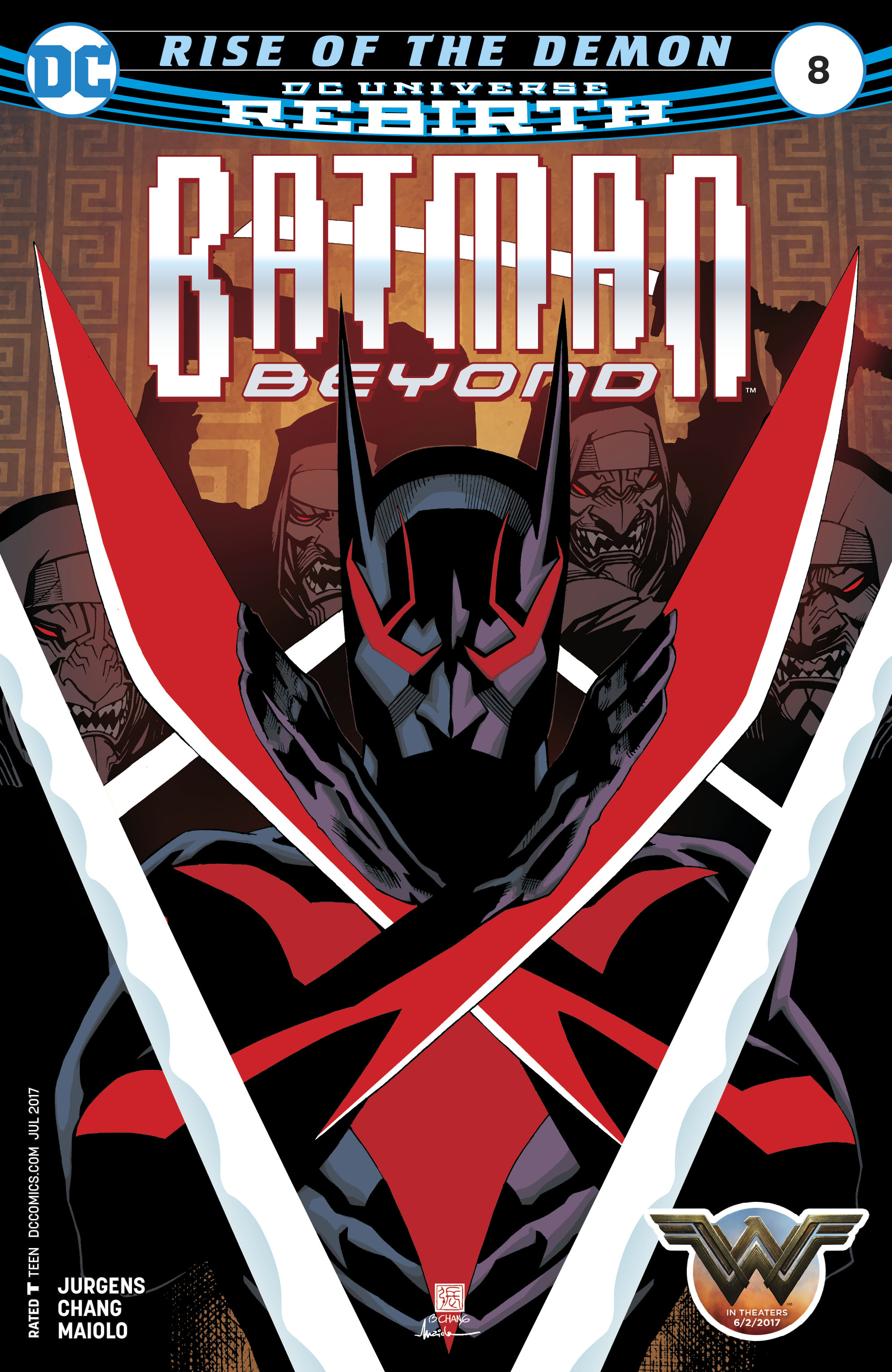 Batman Beyond (2016) 8 Page 1