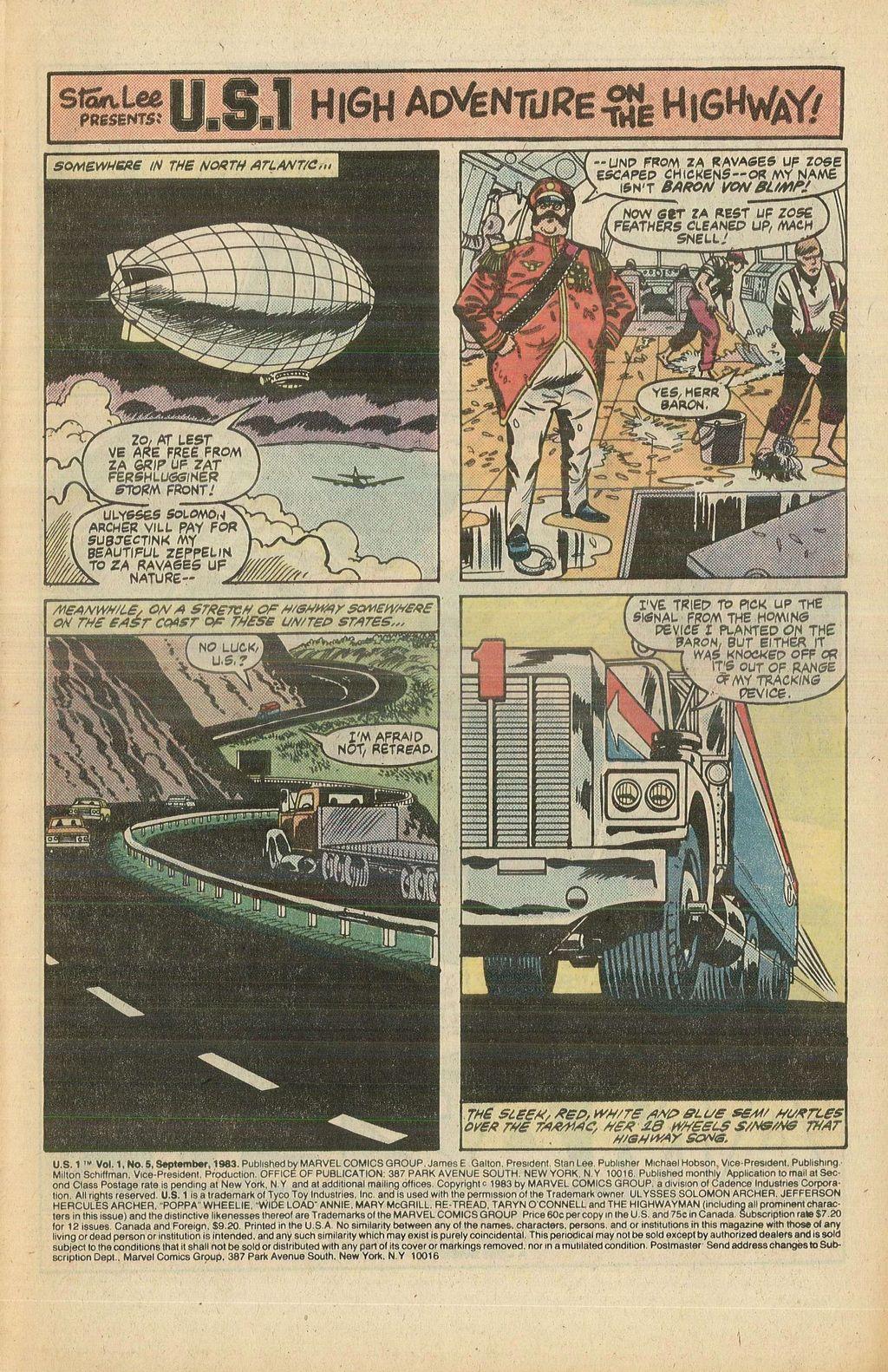 Read online U.S. 1 comic -  Issue #5 - 3