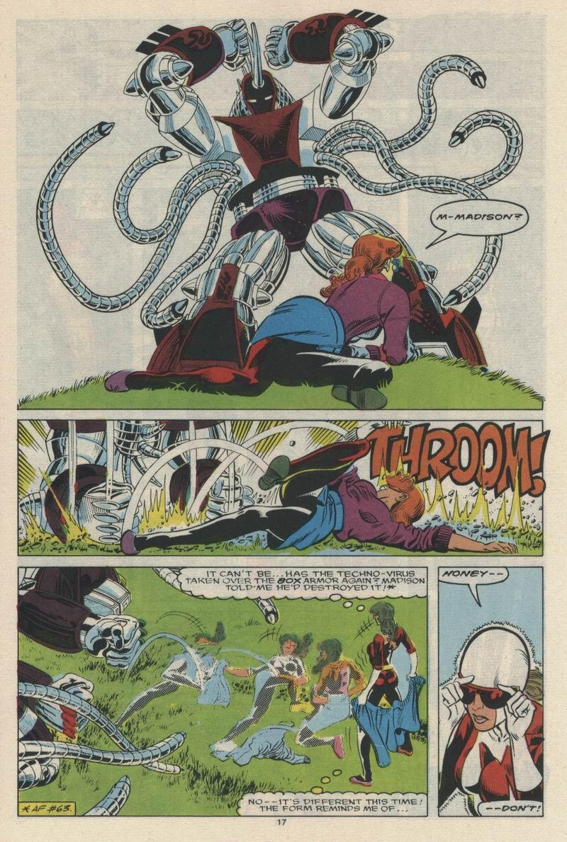 Read online Alpha Flight (1983) comic -  Issue #65 - 19