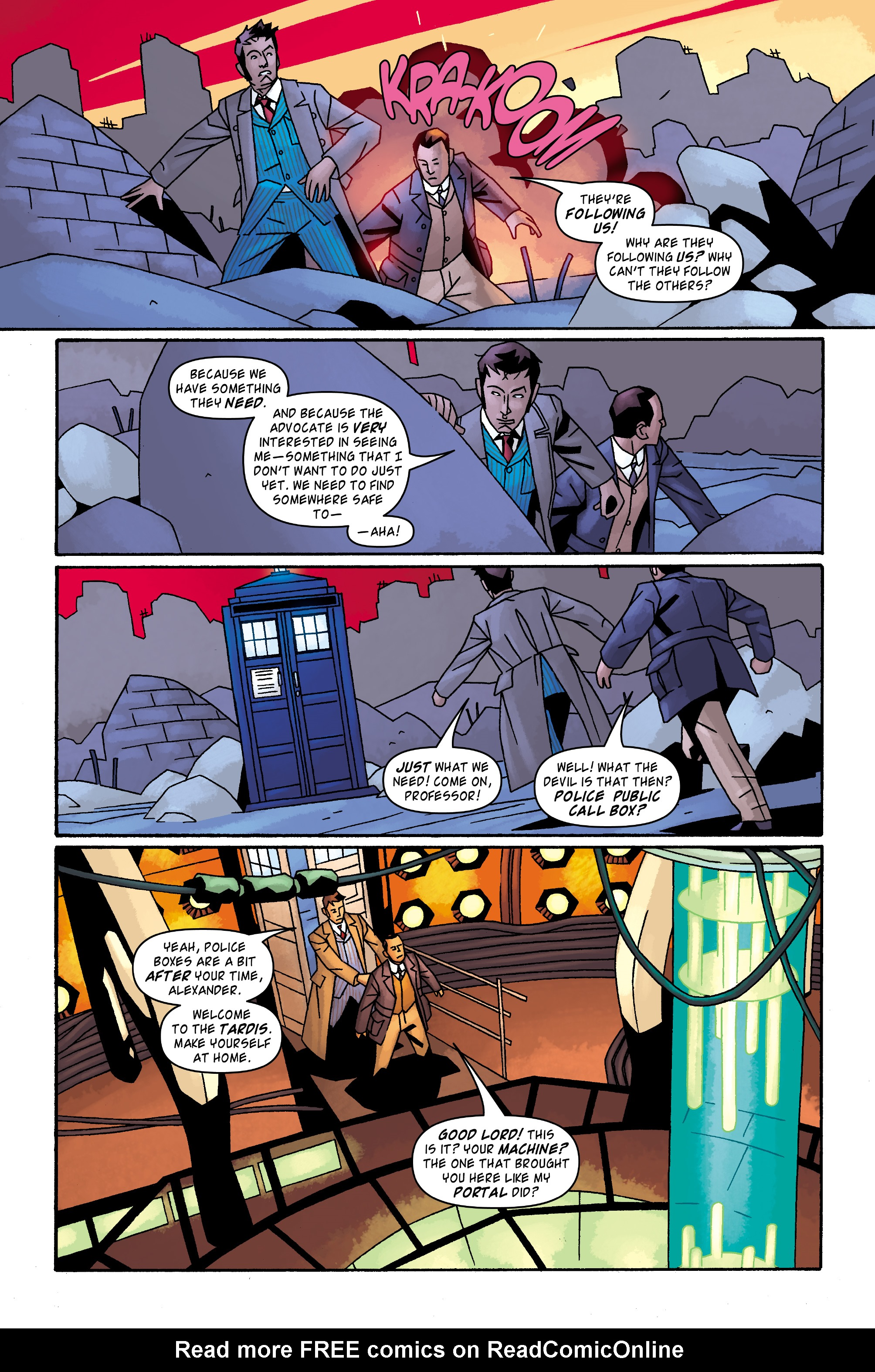 Read online Doctor Who: The Tenth Doctor Archives comic -  Issue #32 - 20