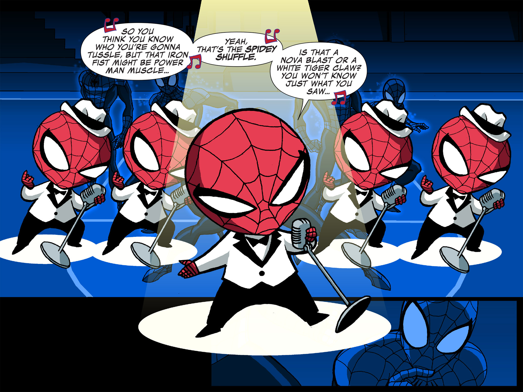 Read online Ultimate Spider-Man (Infinite Comics) (2015) comic -  Issue #24 - 12