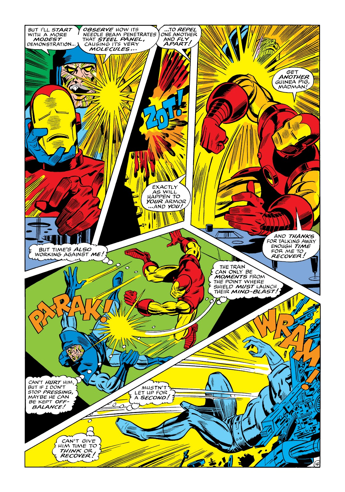 Read online Marvel Masterworks: The Invincible Iron Man comic -  Issue # TPB 5 (Part 3) - 54