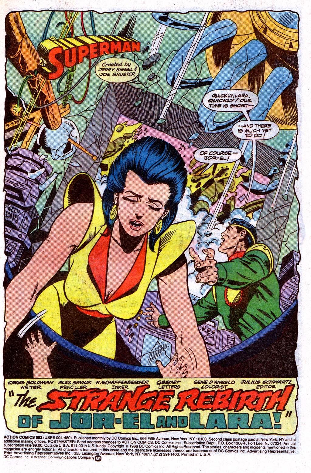 Action Comics (1938) 582 Page 2