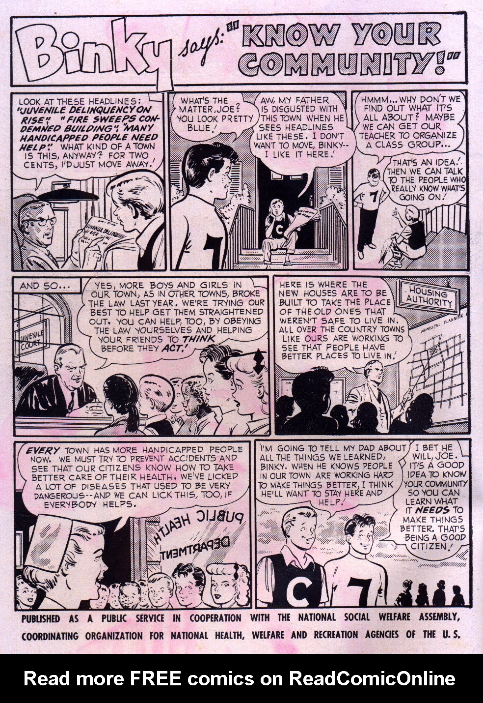Read online Adventure Comics (1938) comic -  Issue #195 - 2